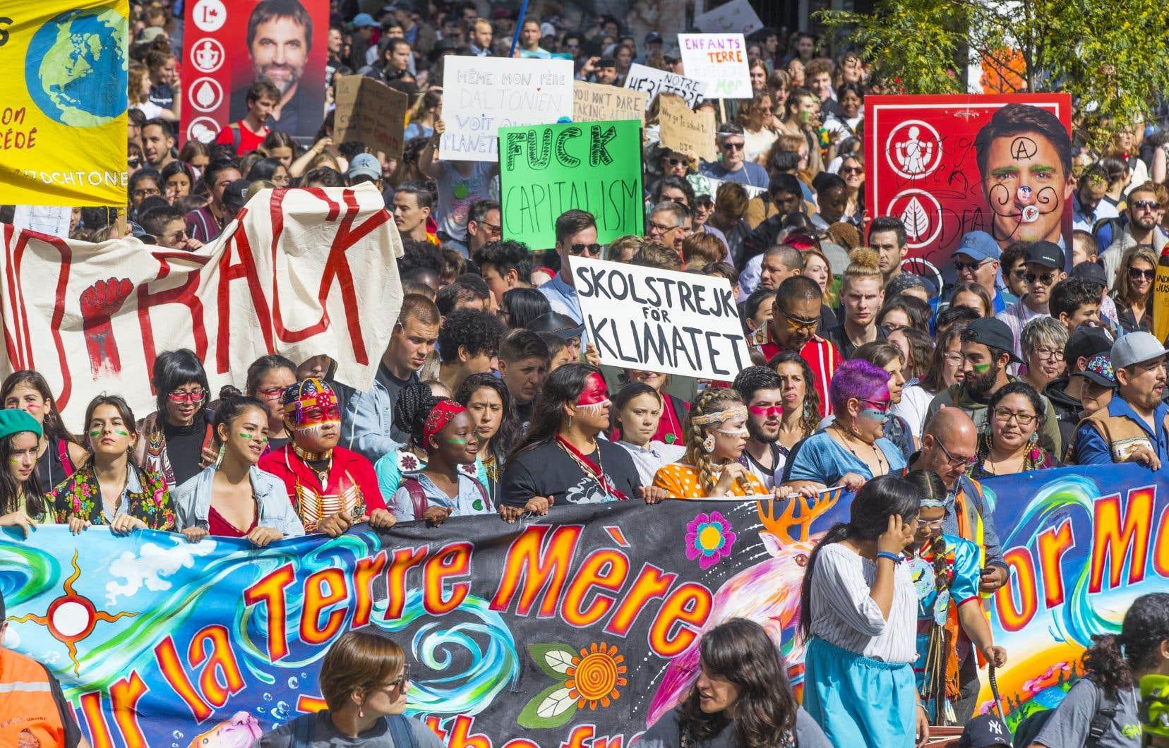 «Avec plus d'un demi-million de manifestants dans les rues de Montréal pour accueillir et applaudir Greta Thunberg l'an dernier, l'appui populaire pour ce genre d'action ne fait aucun doute», souligne l'auteur.