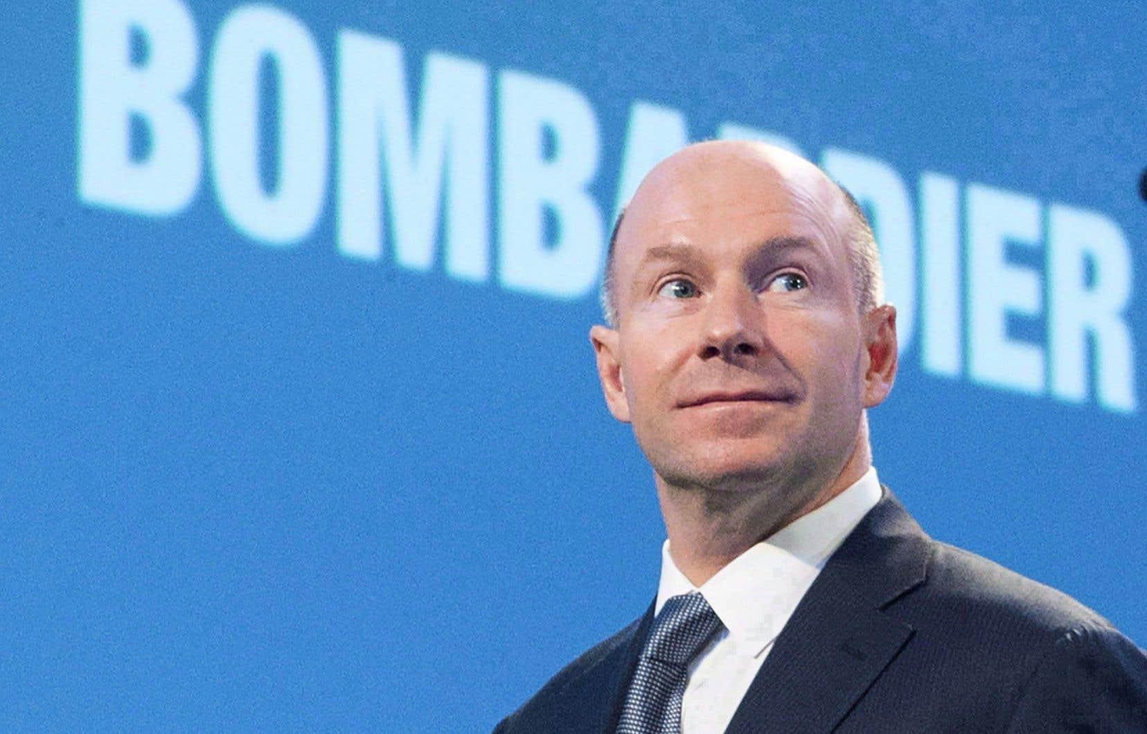 Alain Bellemare,président et chef de la direction de Bombardier