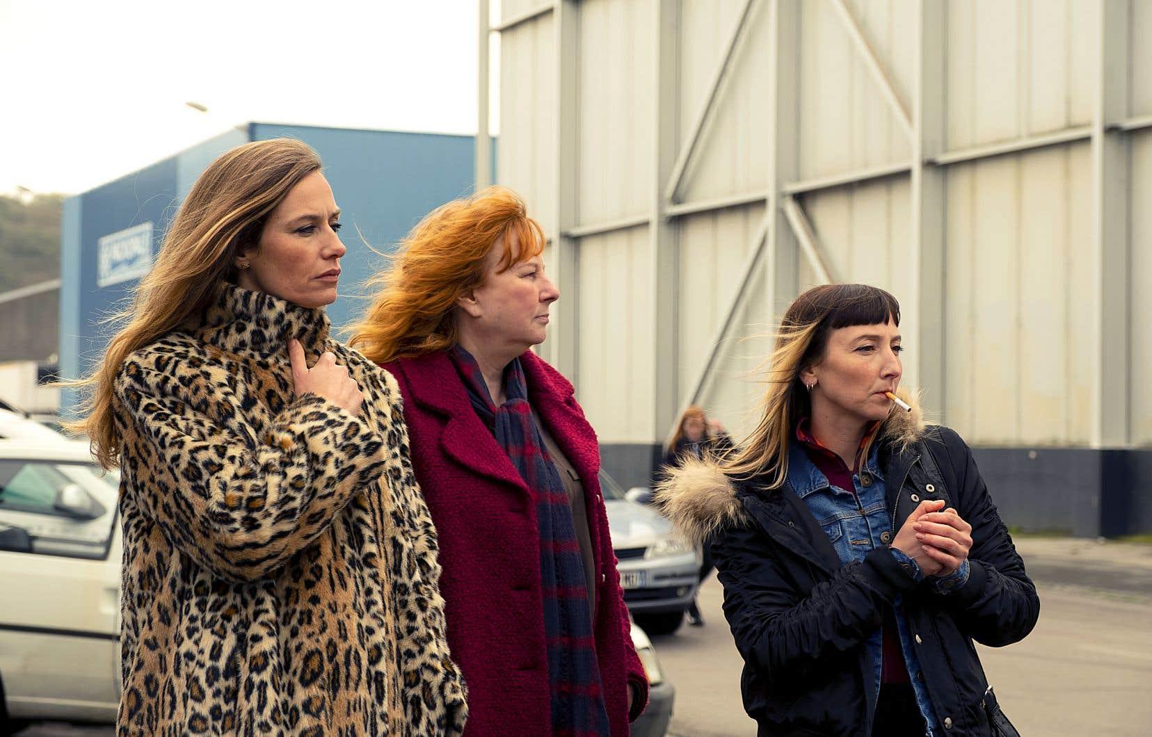 Dans «Rebelles», les trois femmes aux profils contrastés incarnées par Cécile de France, Yolande Moreau et Audrey Lamy, en viennent à se serrer les coudes après quelques accrochages.
