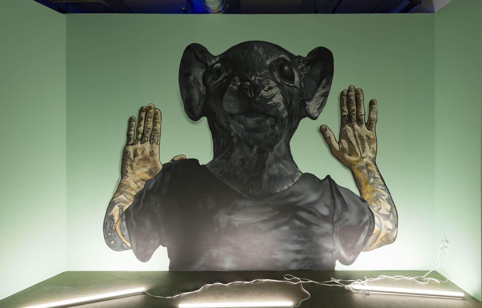 Vue de l'exposition «Spirit Matter», de Bonnie Baxter