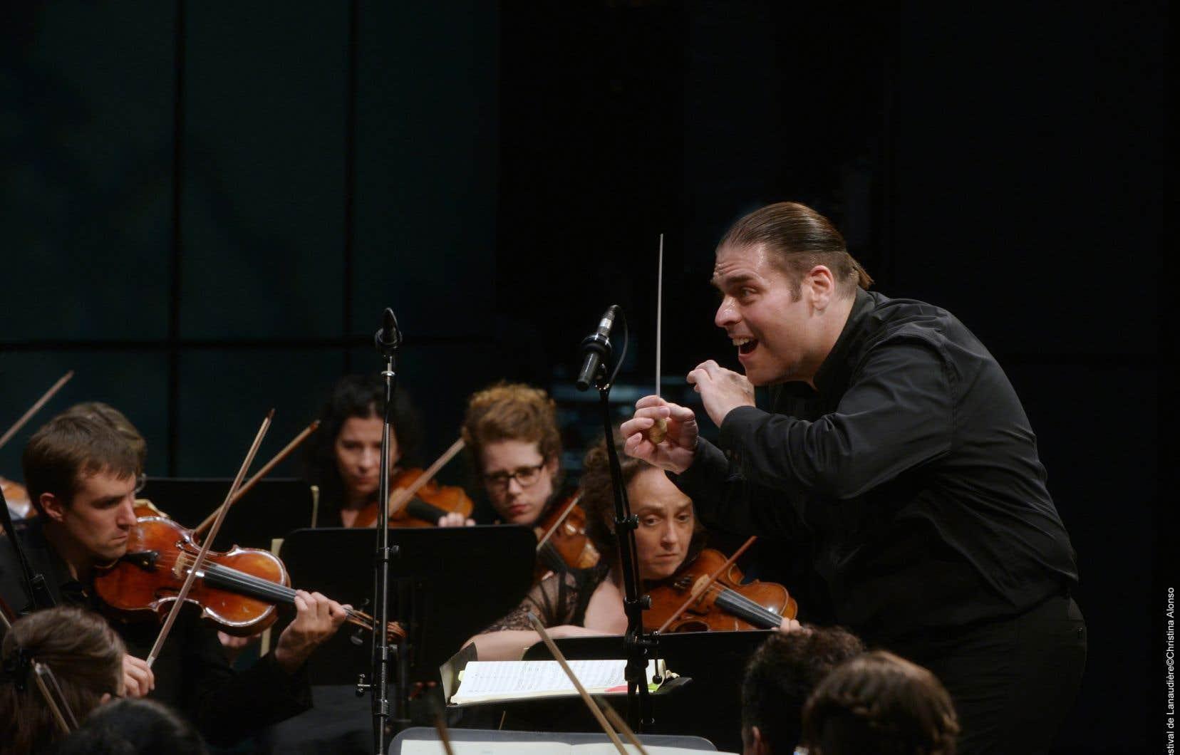 Le chef d'orchestreJean-Marie Zeitouni