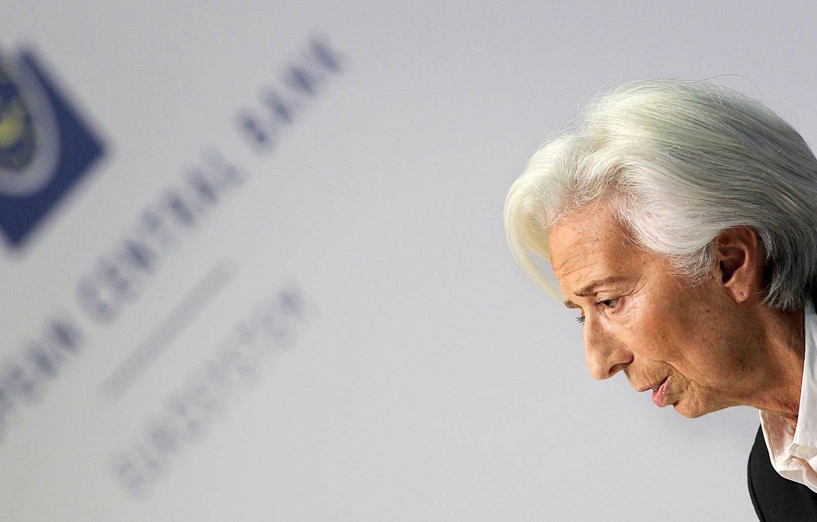 «L'année s'annonce chargée pour nous», a résumé devant la presse jeudi la nouvelle patronne de la Banque centrale européenne, Christine Lagarde.