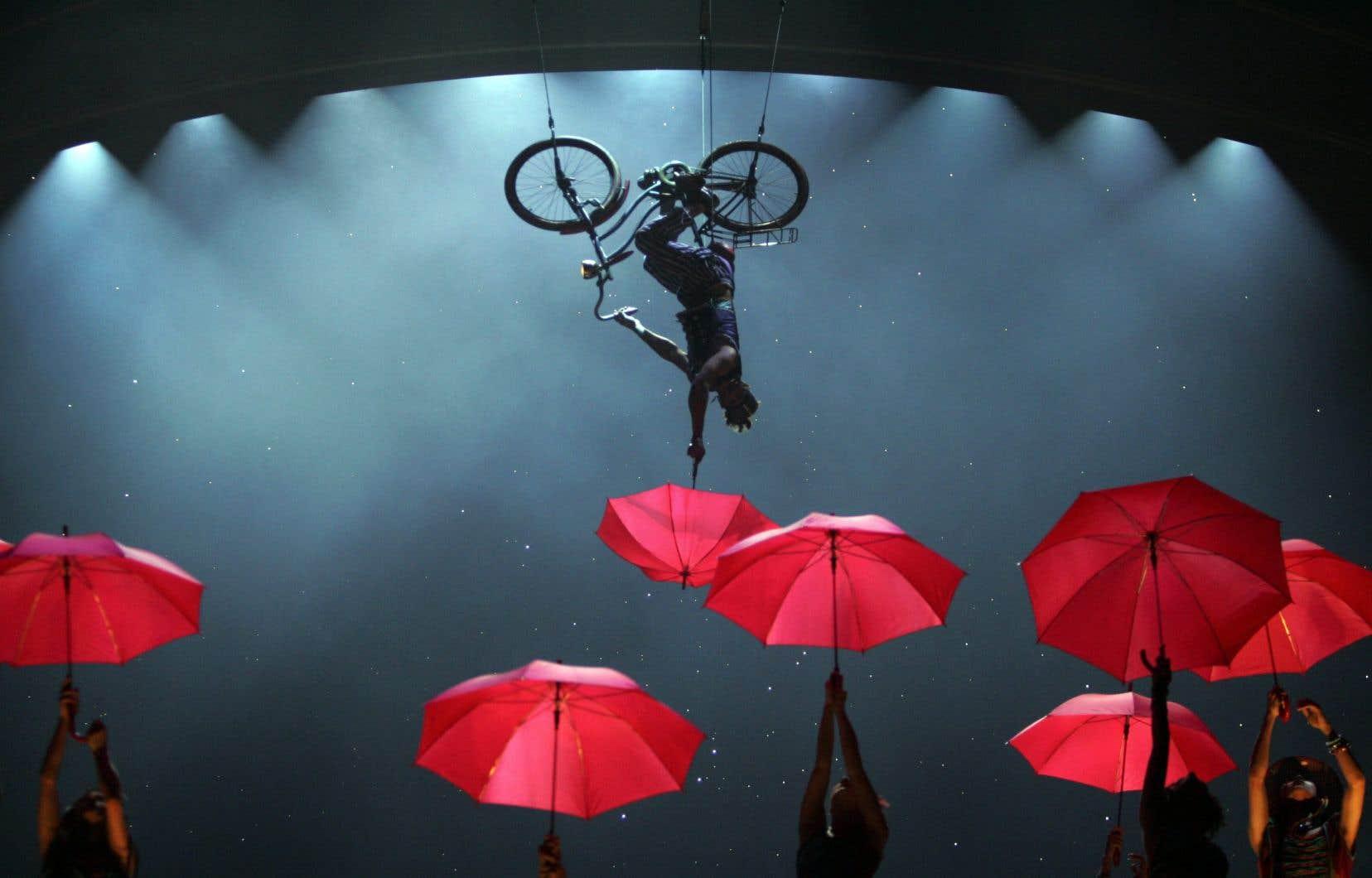 Le Cirque du Soleil a affirmé jeudi par communiqué que toutes les représentations étaient annulées afin d'«assurer la sécurité de ses spectateurs et de ses employés».