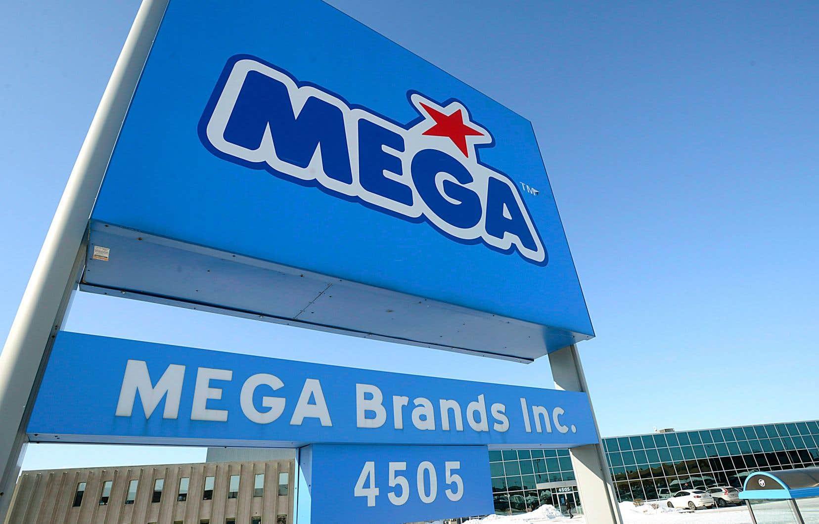 Mattel avait acquis Mega Brands, et du coup sa marque de commerce Mega Bloks, pour 460millions $US en 2014.