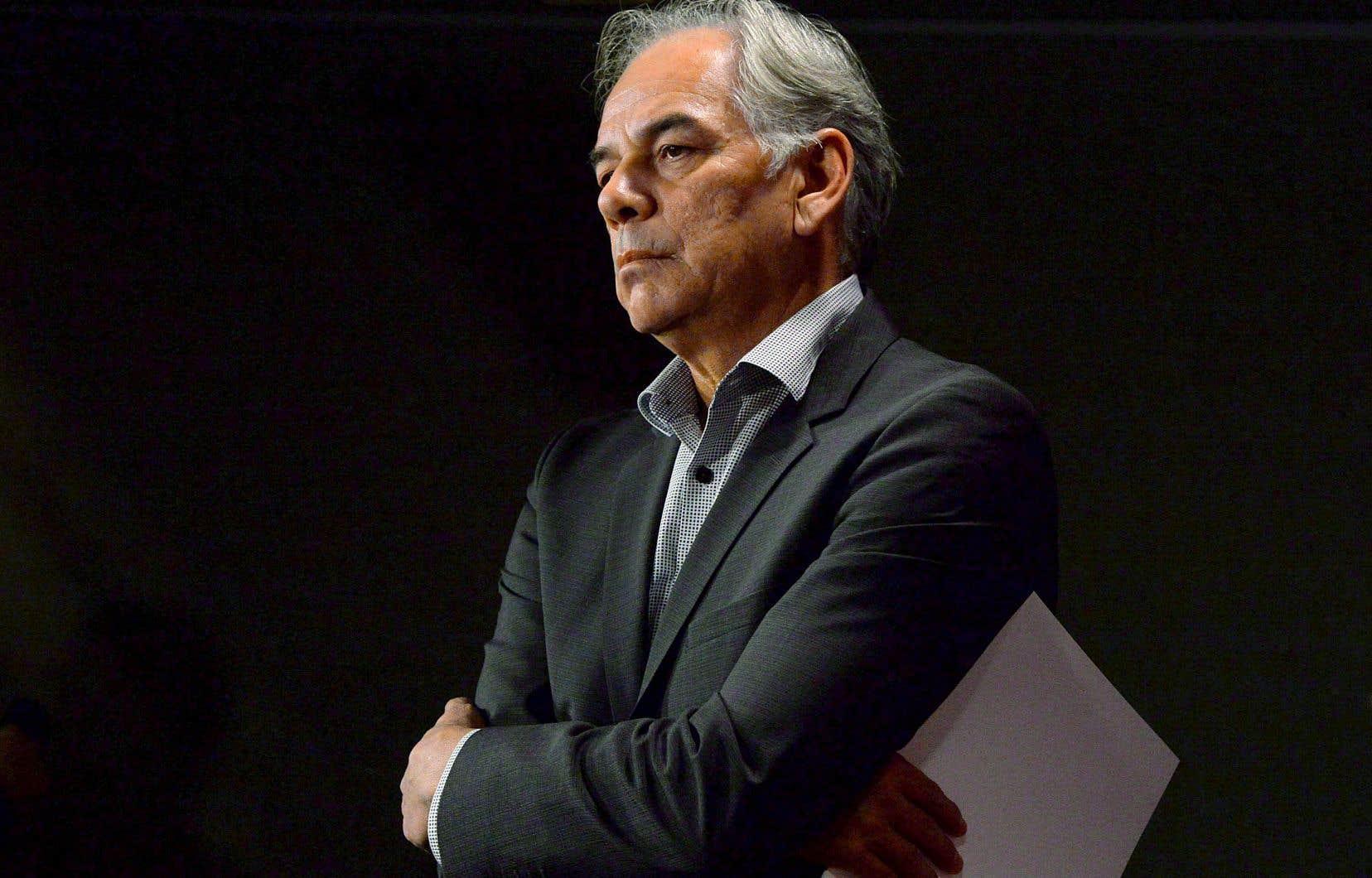 Ghislain Picard réclame la reconnaissance du droit et la capacité des Premières Nations à s'autogouverner.