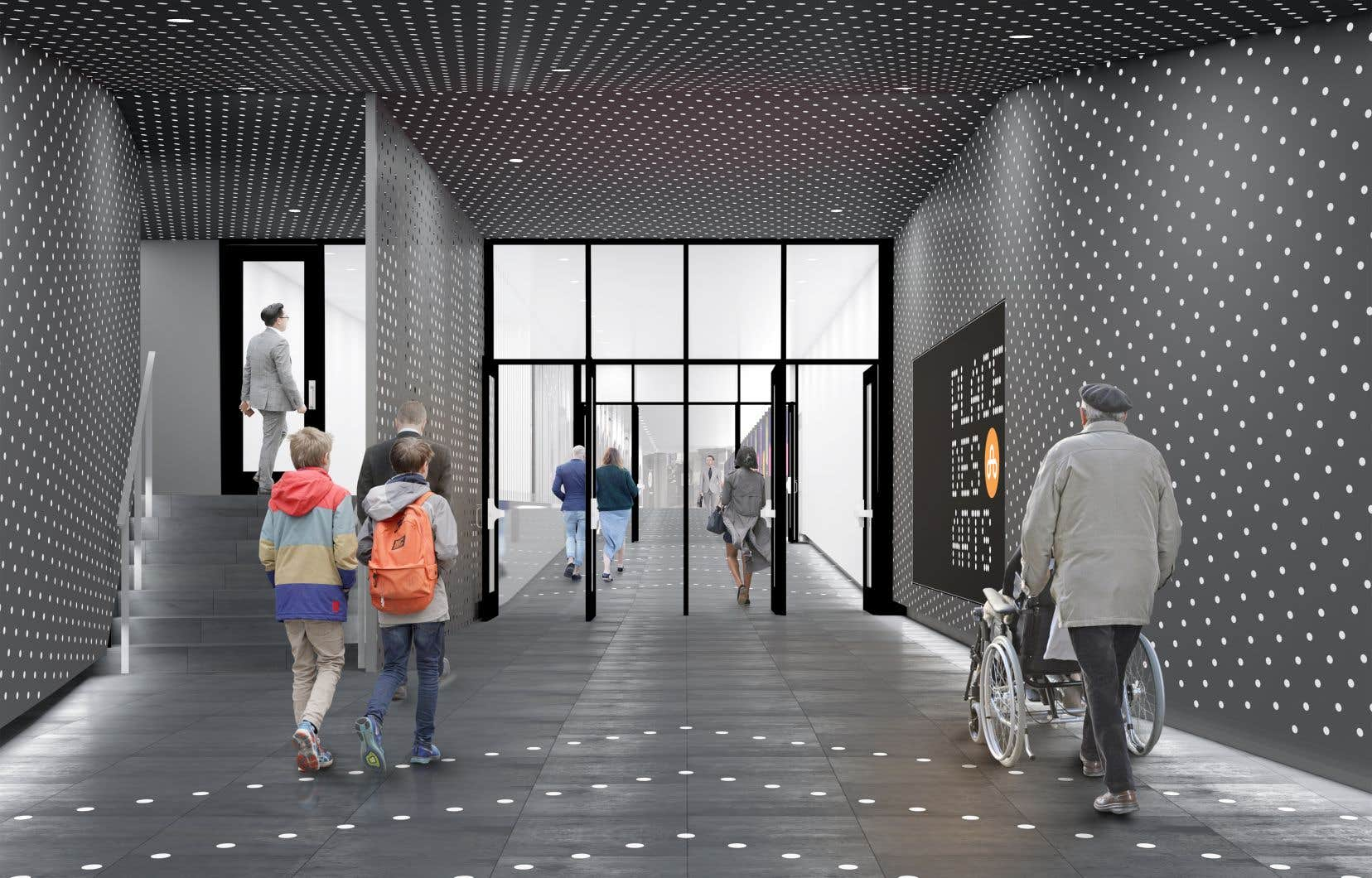 Le début des travaux est prévu pour avril 2021 et le corridor devrait rouvrir en mars 2022.