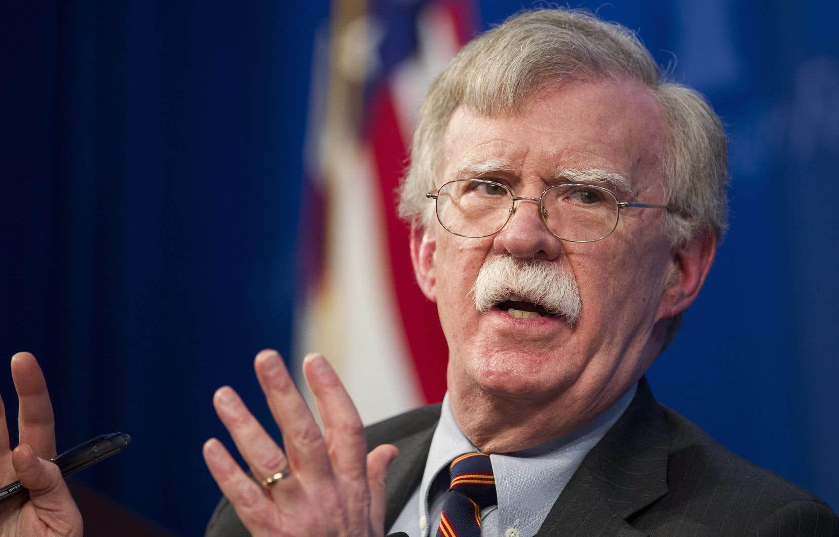 L'ancien conseille à la sécurité nationale John Bolton