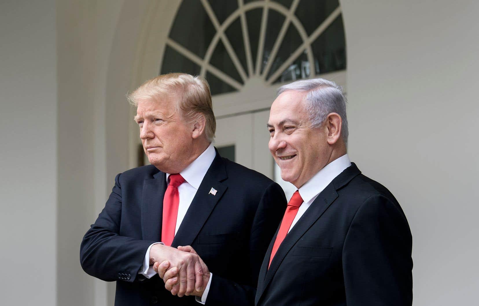 Trump reçoit Nétanyahou avec un plan de paix déjà en péril