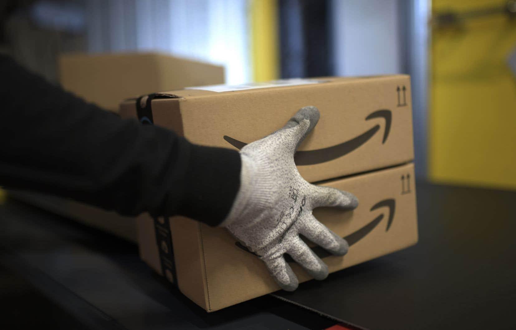 Amazon comptait près de 650000 employés permanents à la fin 2018, selon le rapport annuel de la société.