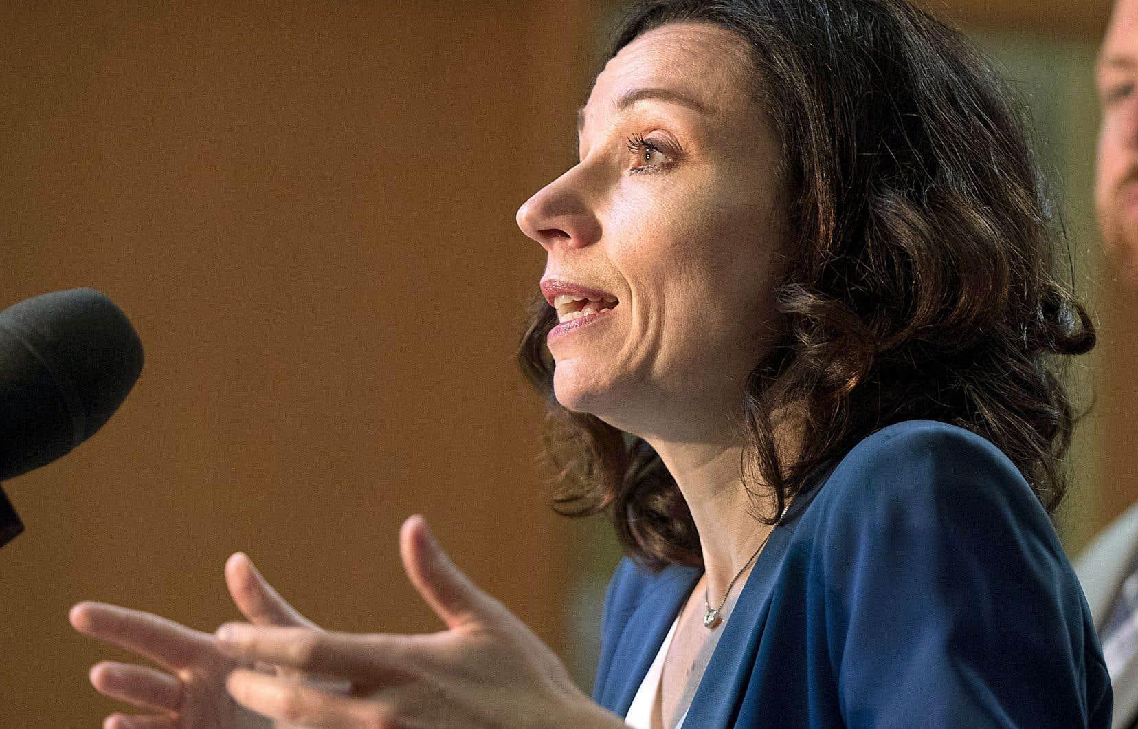 Martine Ouellet reconnaît qu'elle a pu déranger comme militante, comme ministre et comme cheffe du Bloc québécois.