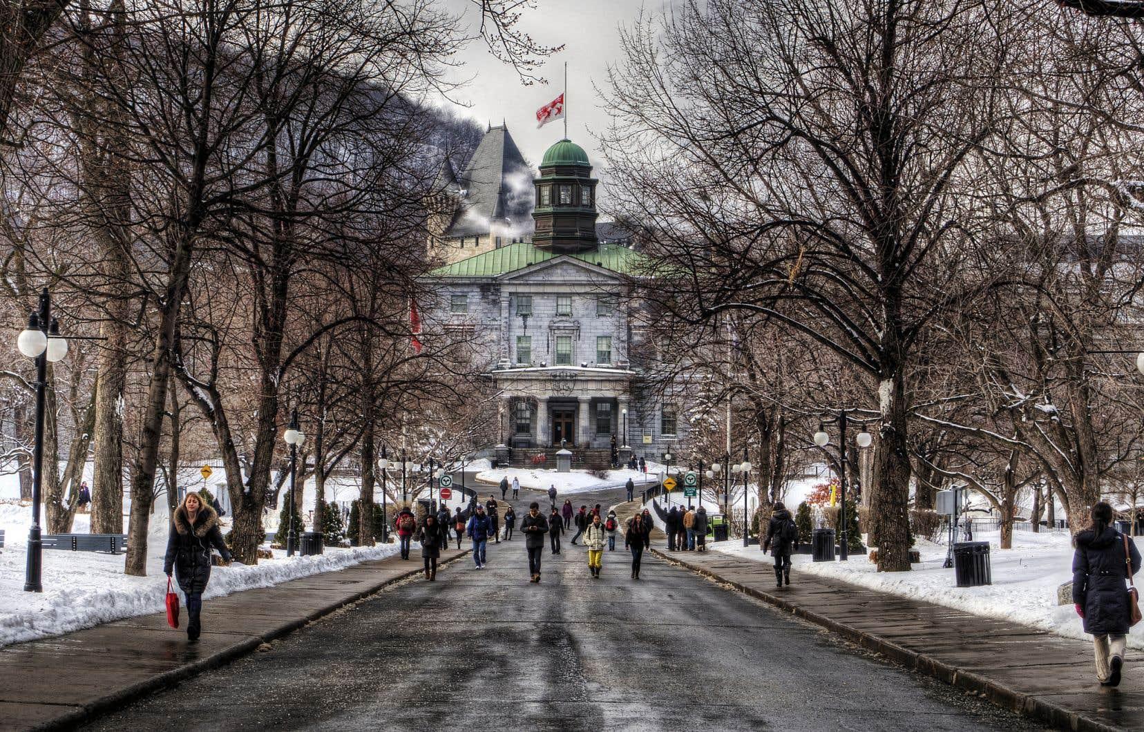 Divest McGill milite pour que l'Université McGill nettoie son fonds de dotation de tout dollar trempant dans le pétrole, le gaz naturel ou le charbon.