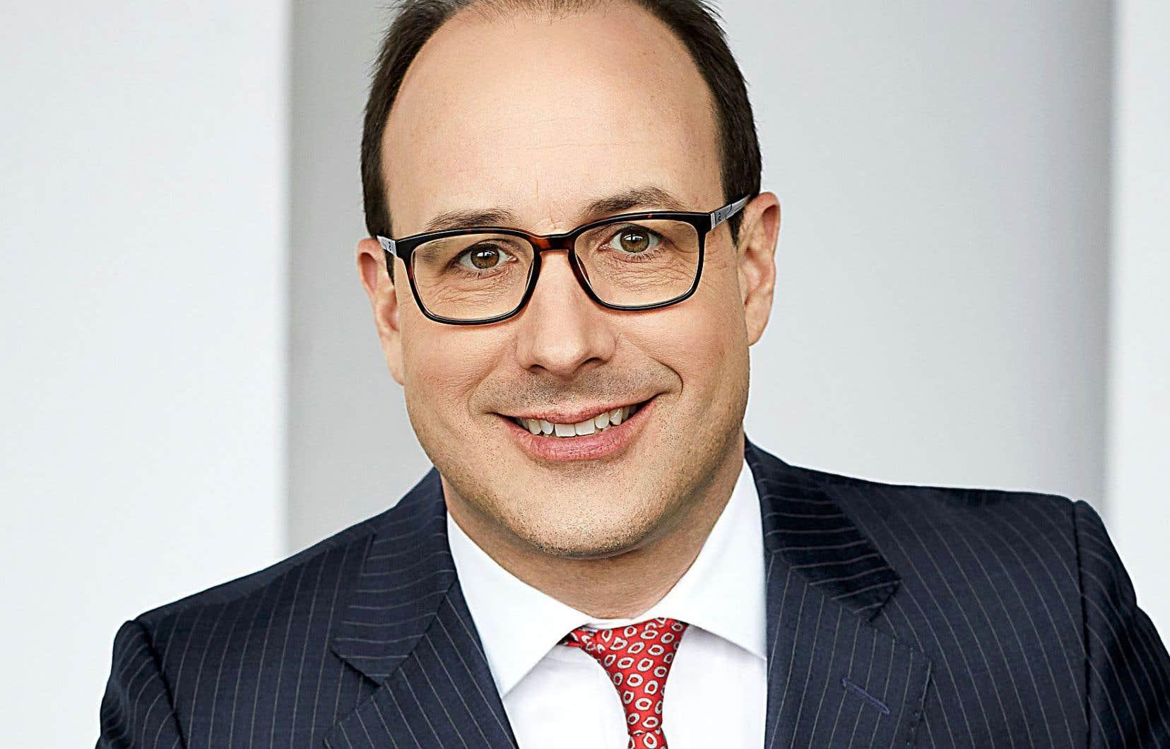 CharlesÉmond, 47 ans, s'occupe entre autres des placements privés à la Caisse de dépôt et placement du Québec depuis novembre 2019.