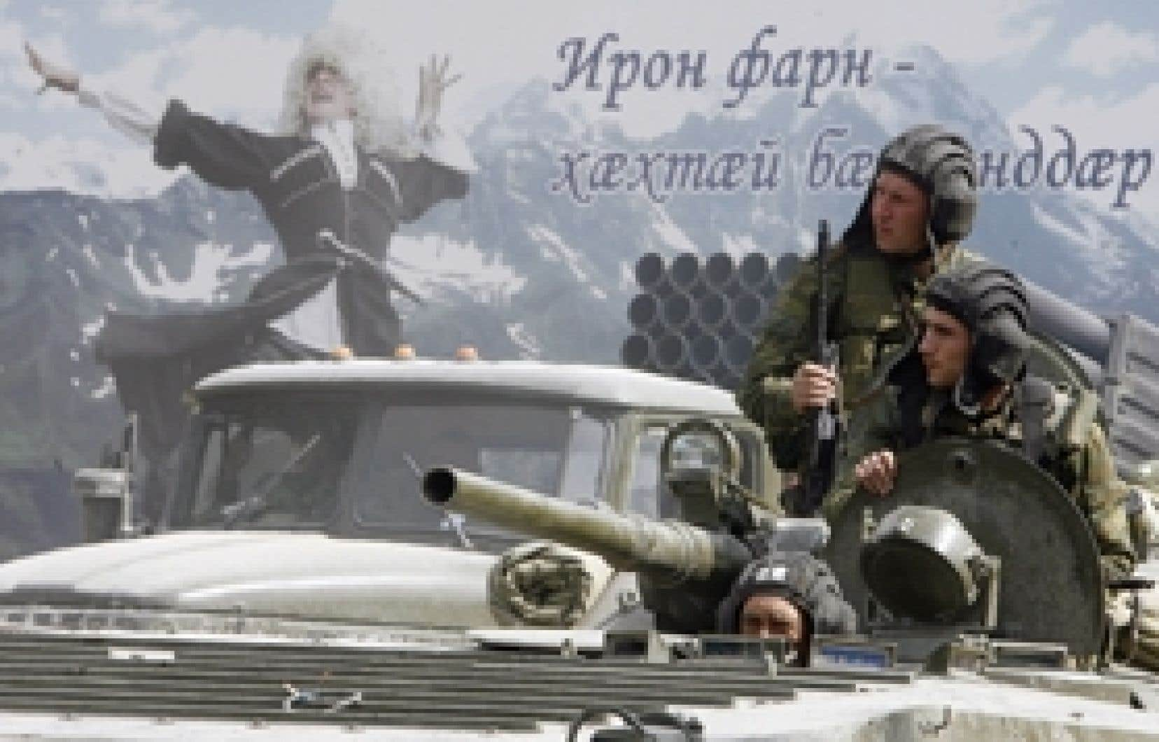Aux yeux de Pavel Felgenhauer, un analyste militaire indépendant à Moscou, l'offensive géorgienne en Ossétie du Sud a fourni à la Russie un prétexte pour illustrer sa rhétorique politique par une action concrète.