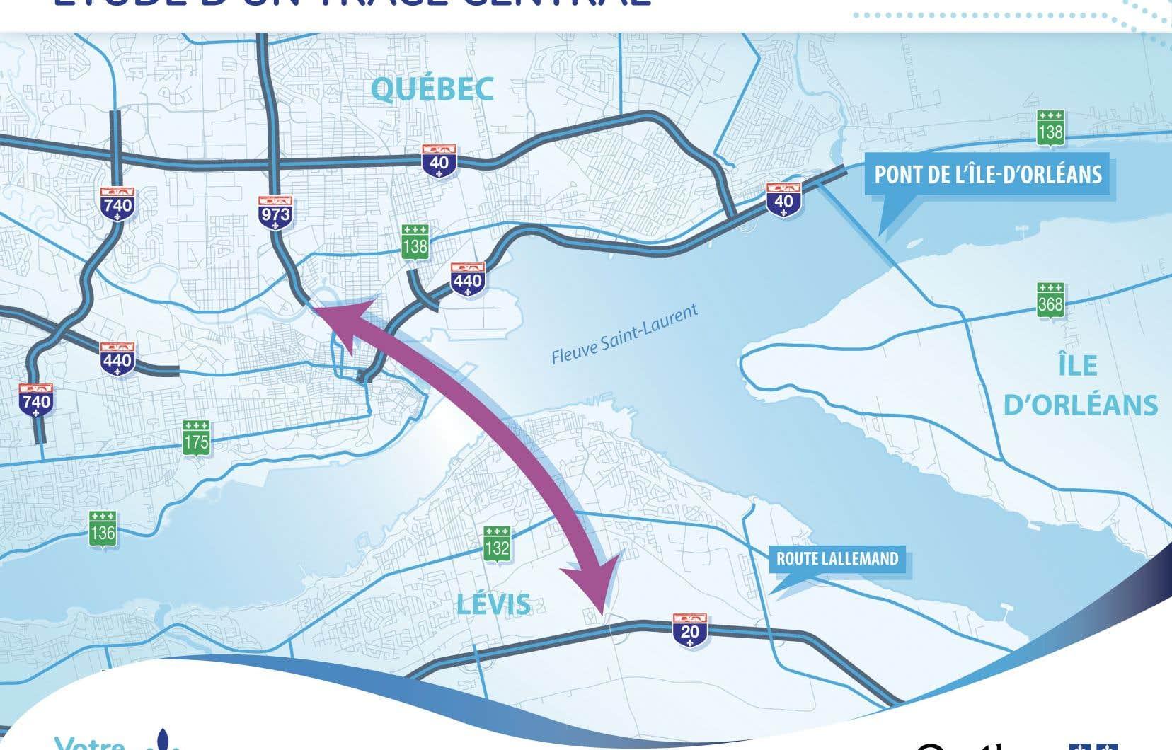 Un tunnel sur le nouveau site choisi pour relier les centres-villes de Québec et de Lévis parait une option moins incertaine d'un point de vue financier, selon le professeur Bruno Massicotte de l'école Polytechnique de Montréal.