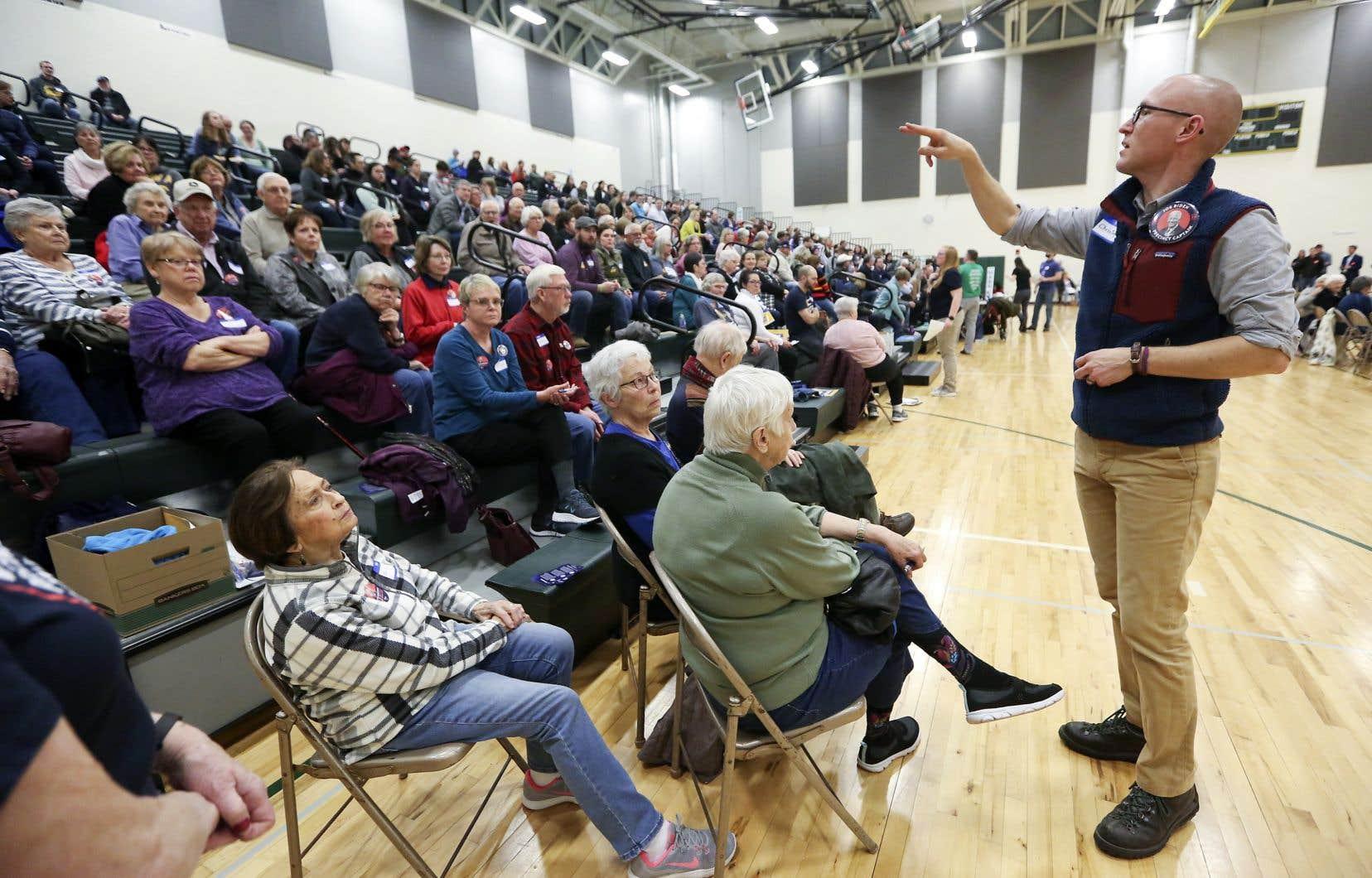<p>Le caucus de l'Iowa est un moment attendu qui donne le coup d'envoi de la campagne électorale américaine, tout en traçant la trajectoire des candidats de l'opposition qui aspirent au siège du bureau ovale.</p>