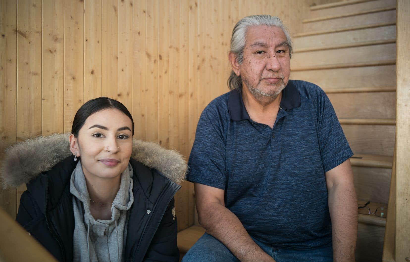 Au pays des Cris, Maïtée Saganash et Paul Dixon ne sont pas les seuls à s'inquiéter du sort fait à la forêt et aux animaux, à commencer par le caribou forestier.