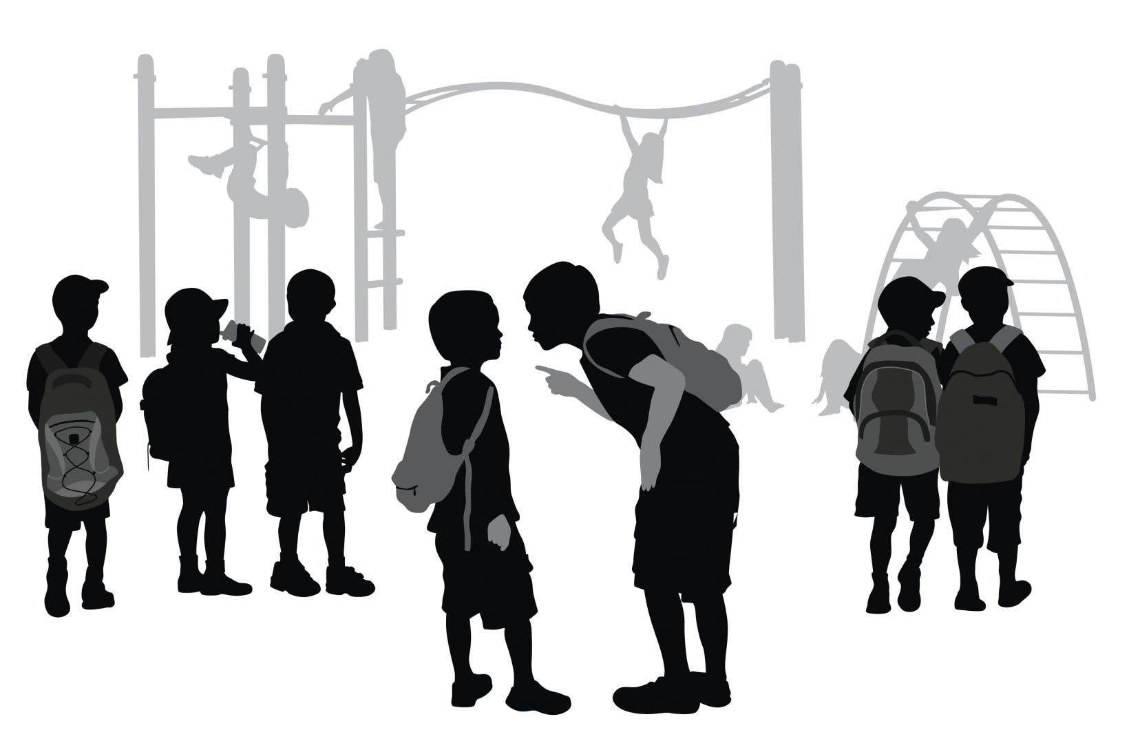 Selon Jasmin Roy, certains parents confondent l'intimidation avec les conflits d'enfants, un moment de violence ou une altercation vécue par leur enfant à l'école.