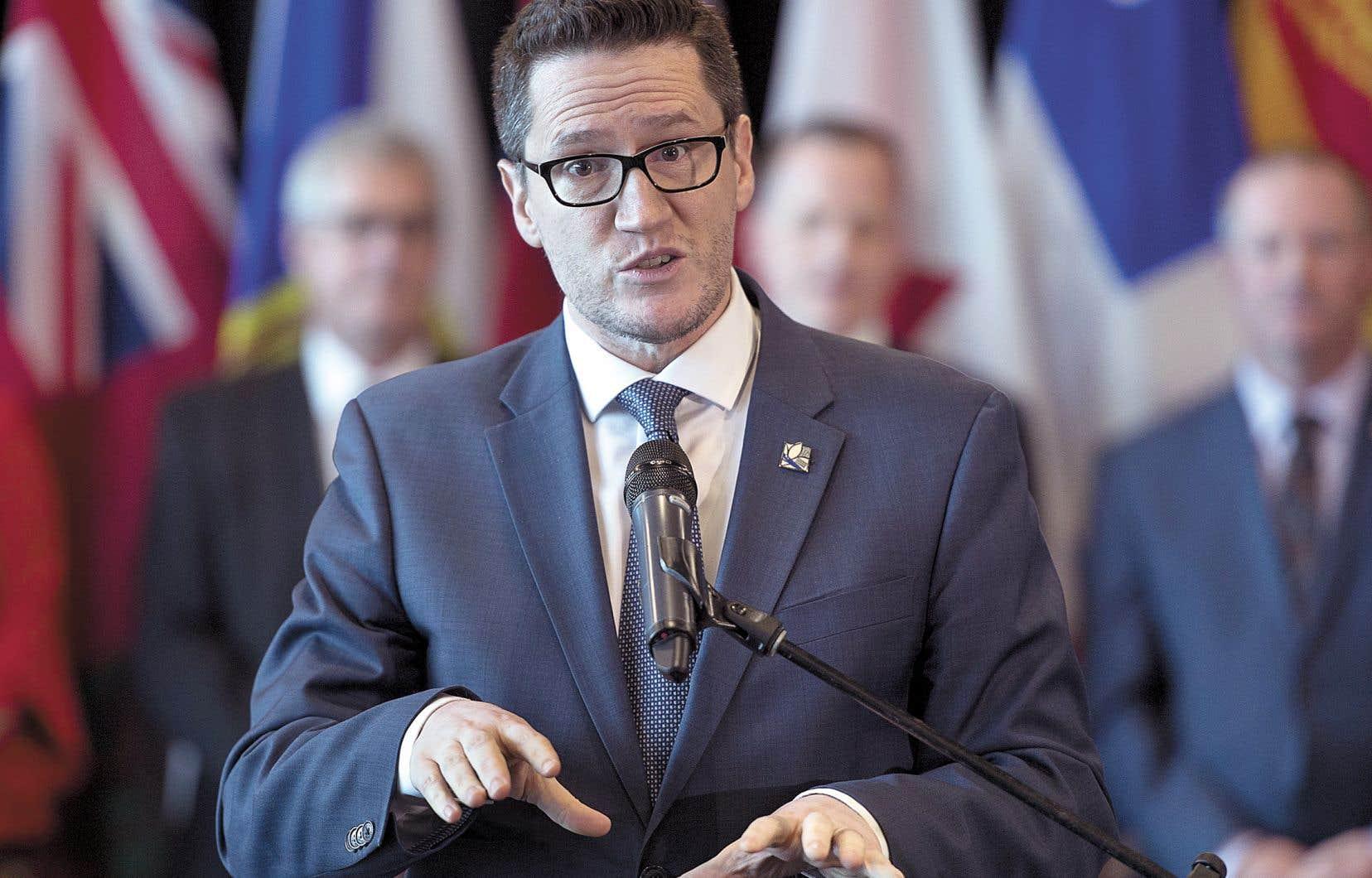 Le ministre québécois de l'Environnement, Benoit Charette, dit vouloir effectuer une «transition juste», au nom de la défense des travailleurs québécois.