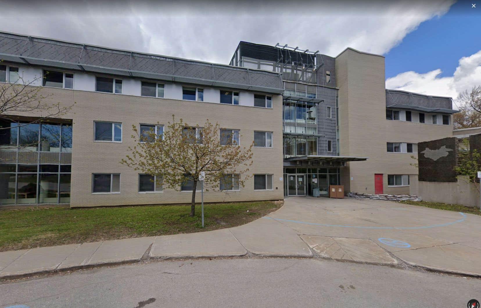 L'Hôpital en santé mentale Albert-Prévost, où cinq employés ont été blessés par un patient.