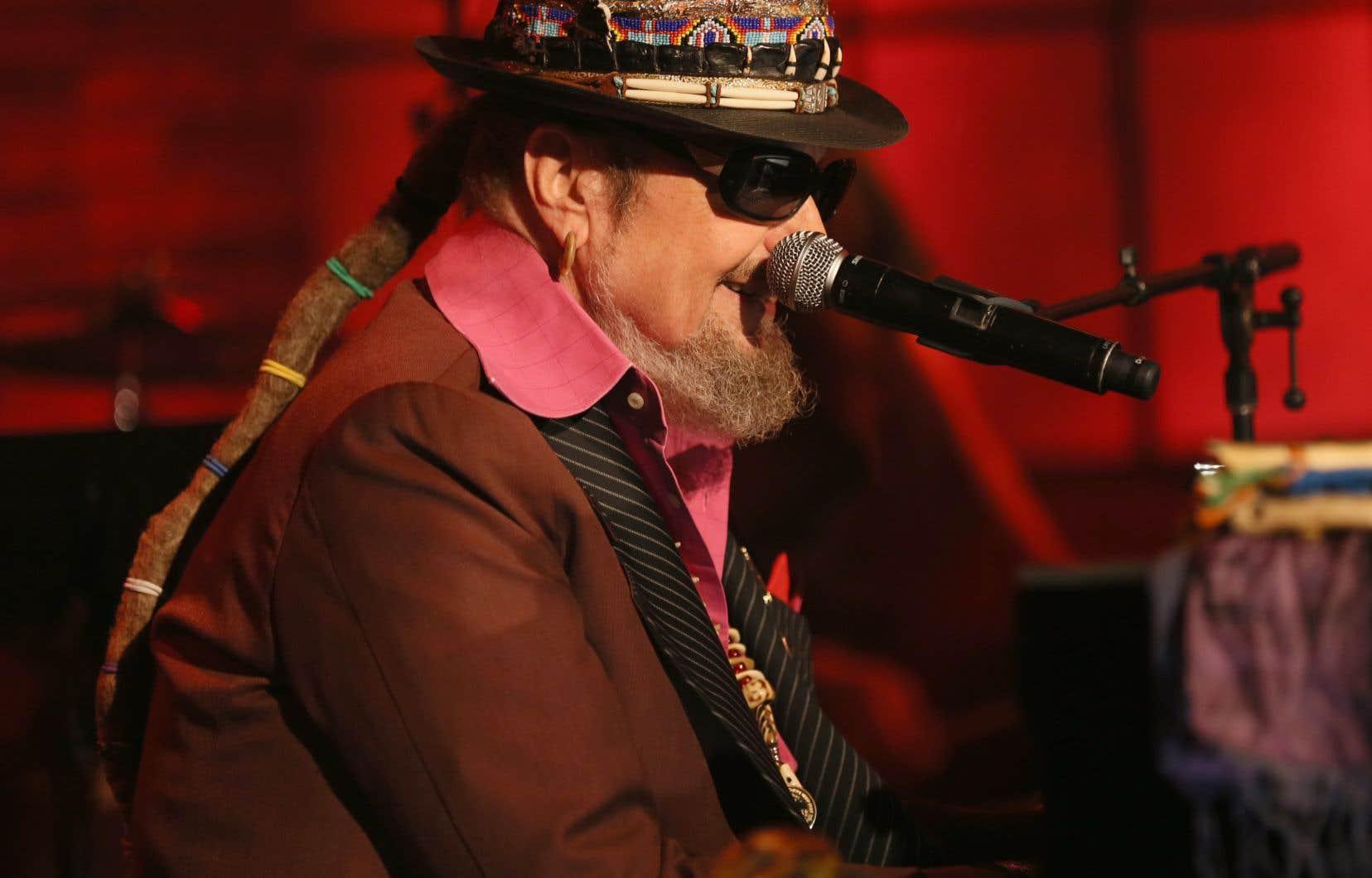 Dr. John lors de l'événement Skyville Live le 2 novembre 2016 à Nashville, Tennessee