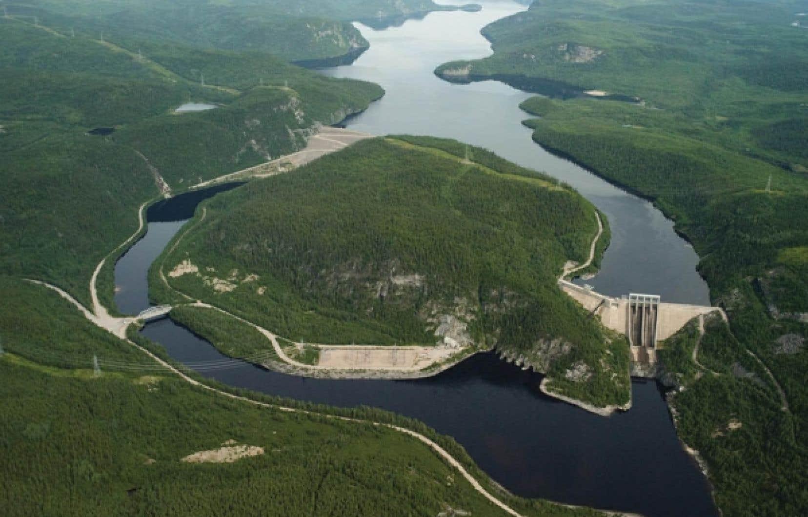 Le barrage René-Lévesque