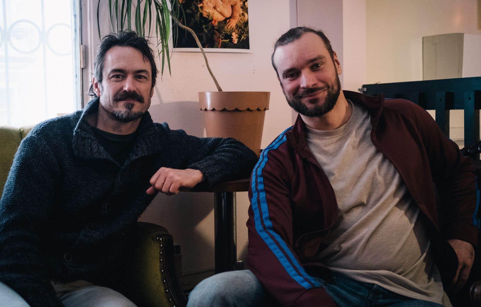 Les acteurs Sébastien Ricard et Yuri se partagent la vedette dans le film de Rodrigue Jean, «L'acrobate»