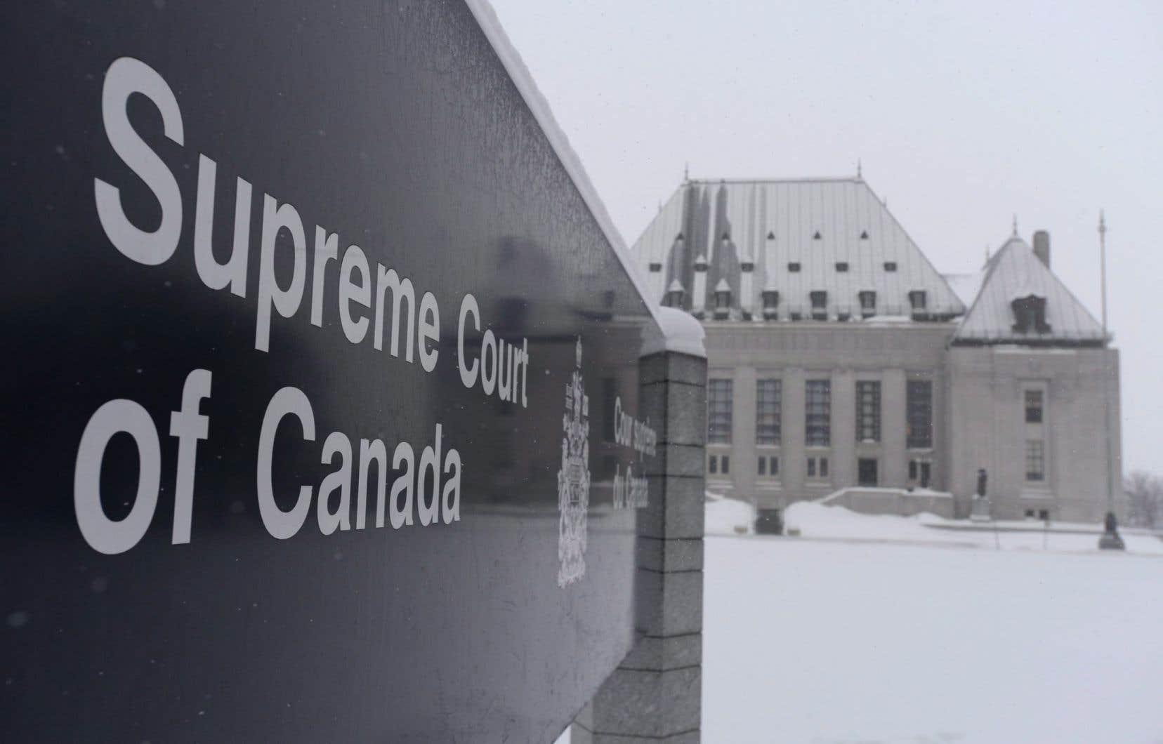 Le plus haut tribunal du pays, la Cour suprême du Canada