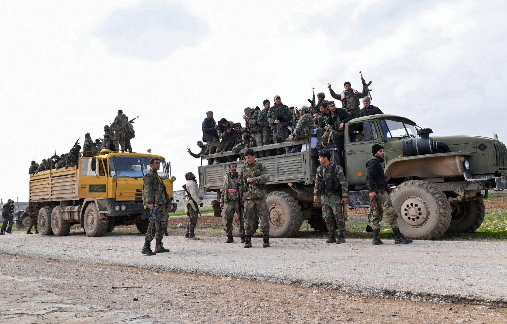 En prenant Saraqeb, les forces du régime contrôlent toute la M5 qui traverse la province d'Idleb.