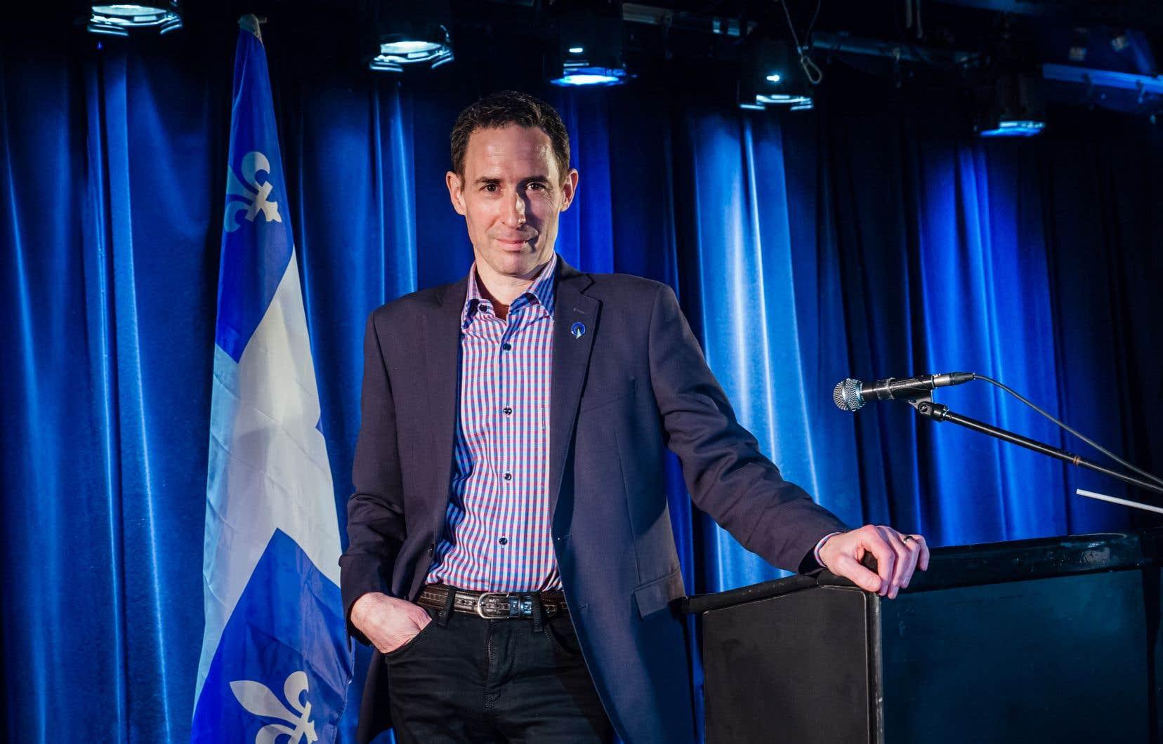 Lancement de la campagne de Frédéric Bastien à la direction du PQ