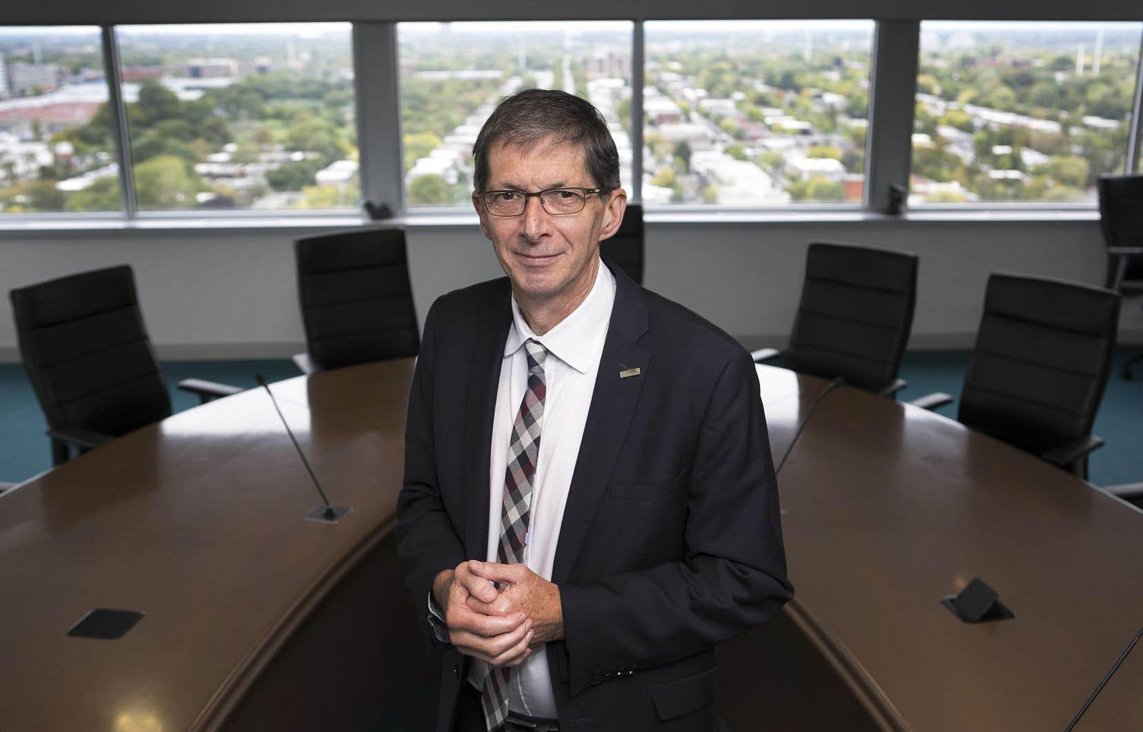 Le président-directeur général du Fonds de solidarité FTQ, Gaétan Morin