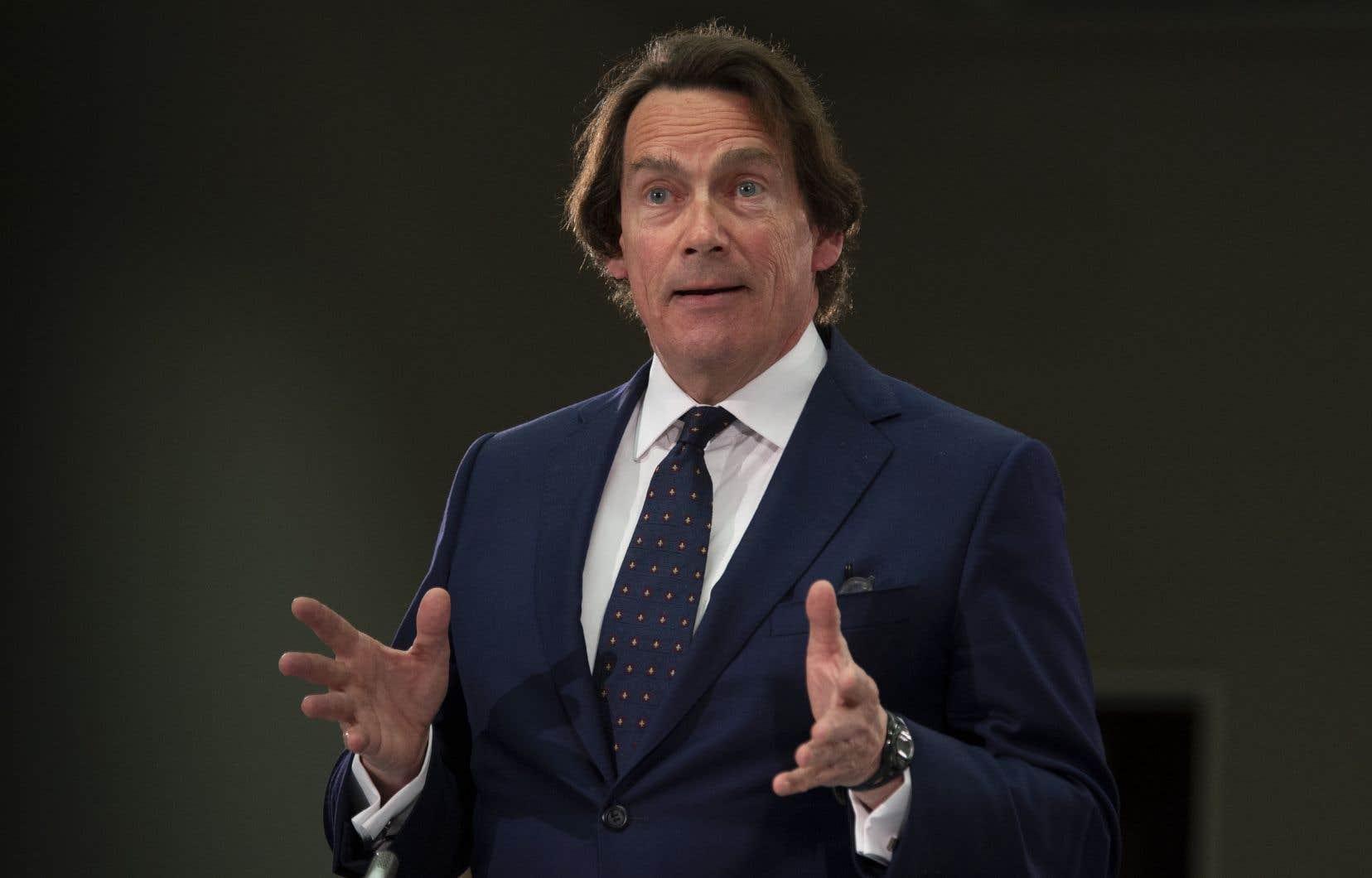 Le patron de Québecor, Pierre Karl Péladeau
