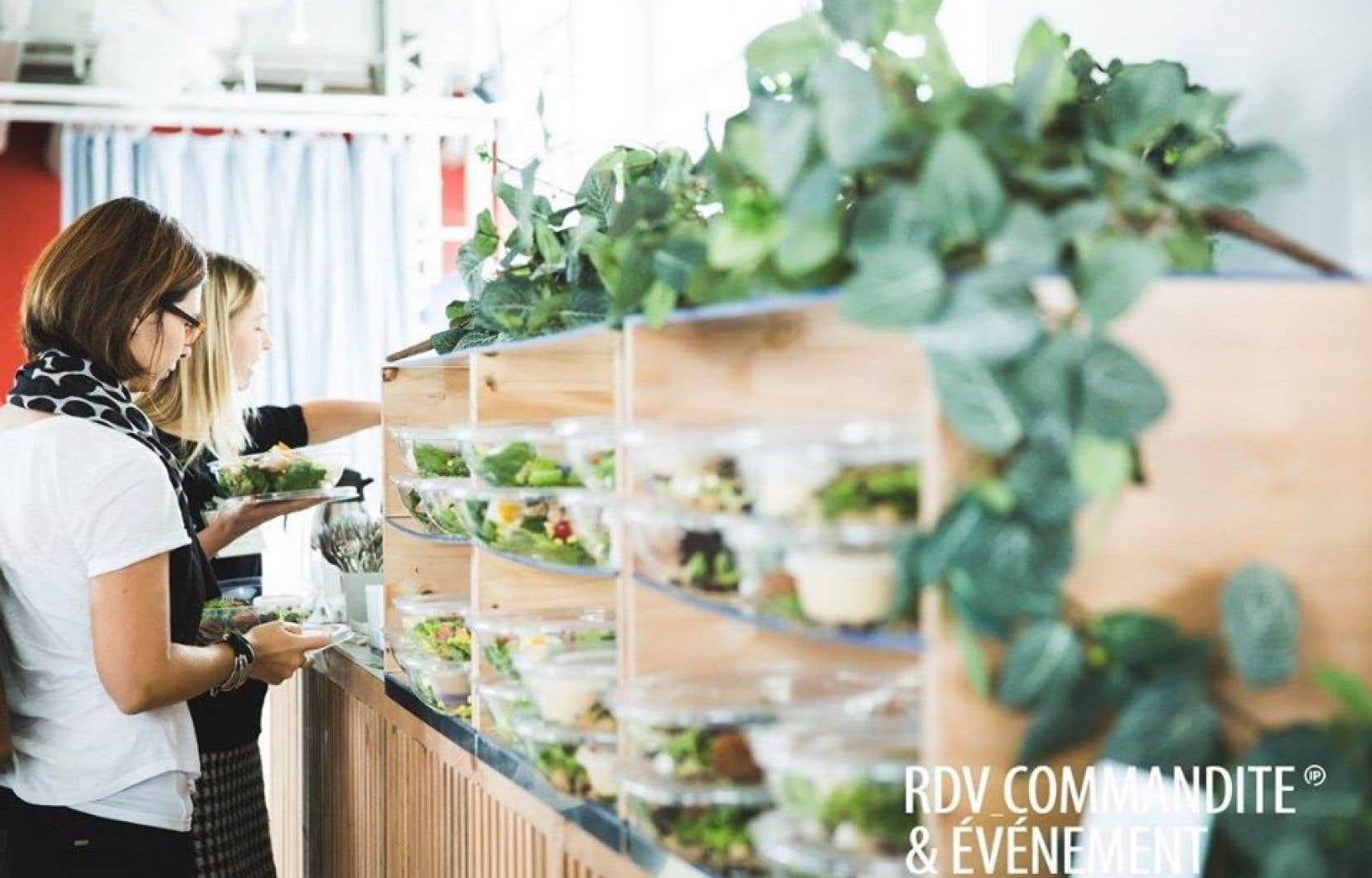 Pour Olivier Picard Borduas, directeur de production au groupe Infopresse,  les rencontres d'affaires doivent être une expérience  à la fois professionnelle et gastronomique.