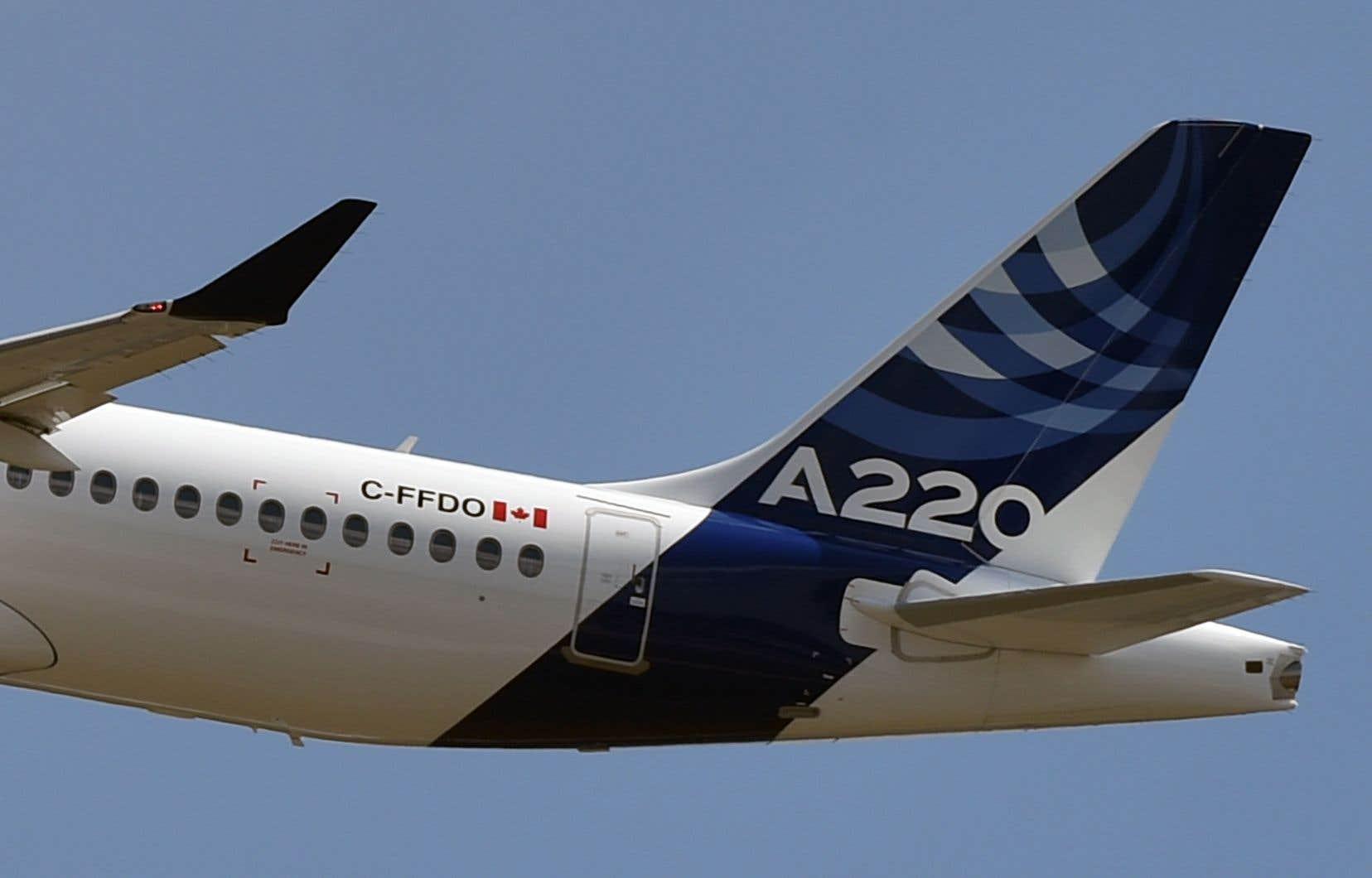 Les lots industriels de Bombardier concernant les avions A220 et A330 seront transférés à Airbus, via sa filiale Stelia Aéronautique.