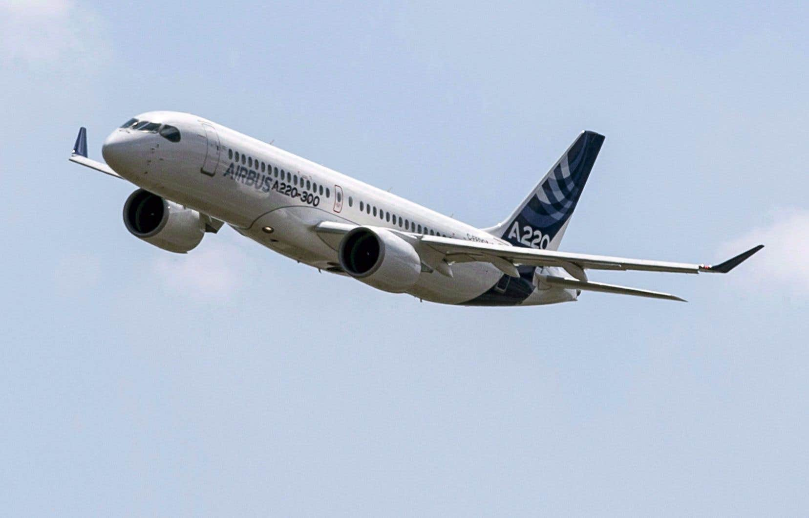 Les lots industriels de Bombardier concernant les avions A220 et A330 seront transférés à Airbus, via sa filiale Stelia Aéronautique, ce qui maintiendra 360 emplois au Québec.