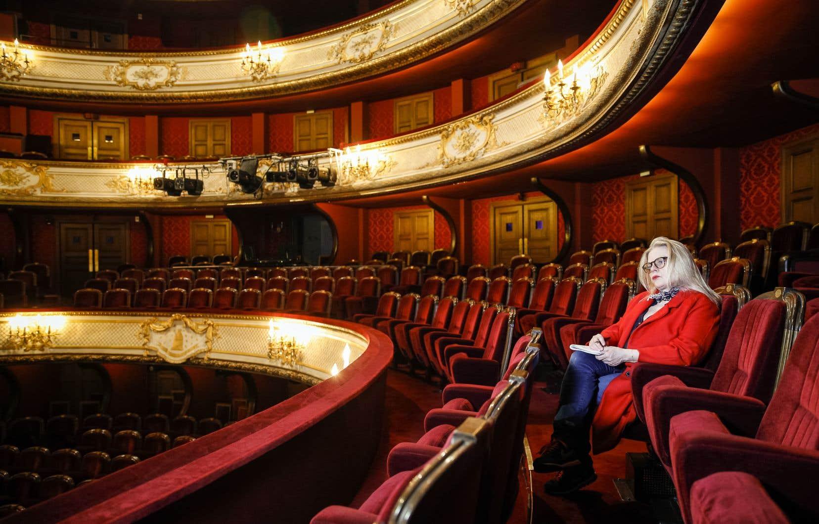 L'actrice a fait la mise en scène de la pièce «L'hôtel du Libre-Échange»<i>,</i> de Feydeau, à la Comédie-Française en 2017.