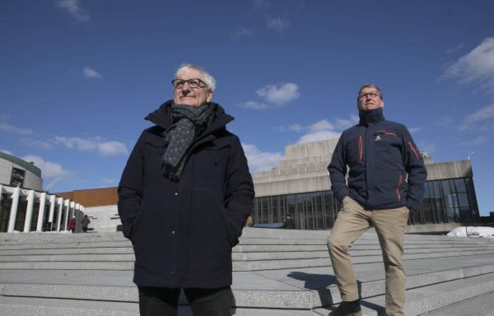 Bernard Landriault et Michel Paradis, le couple derrière la Fondation Grantham pour l'art et l'environnement