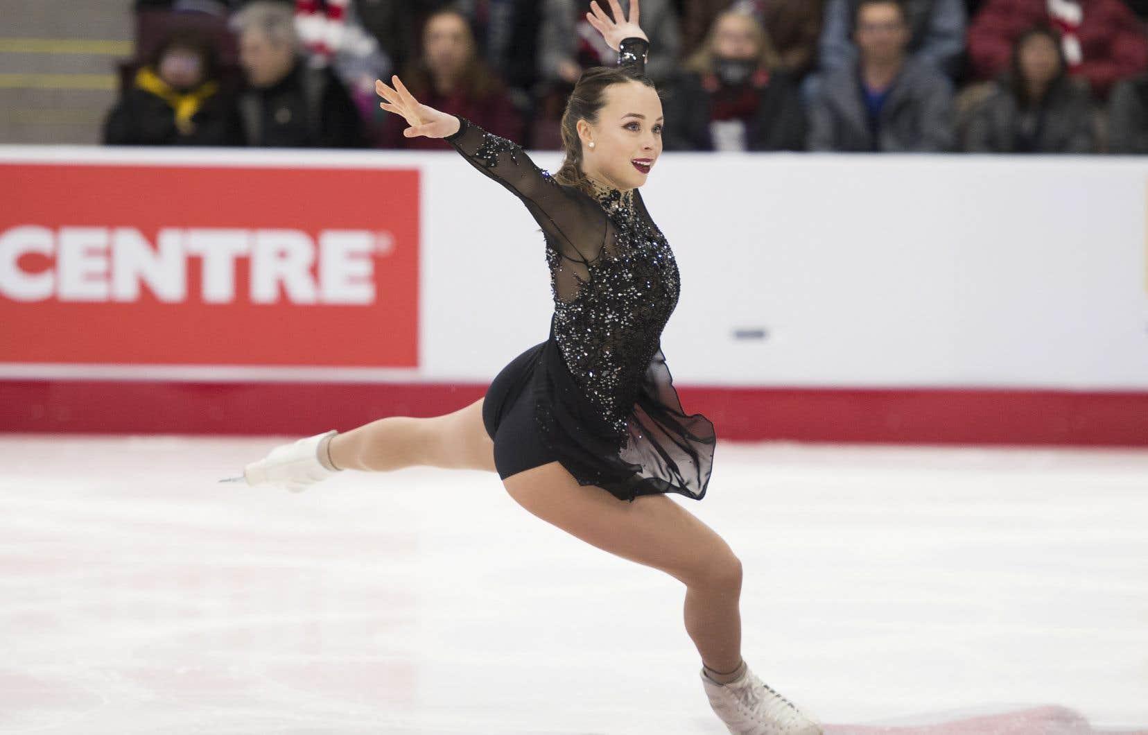 La Québécoise Alicia Pineaultreprésentera le Canada chez les dameslors des Championnats du monde de patinage artistique.