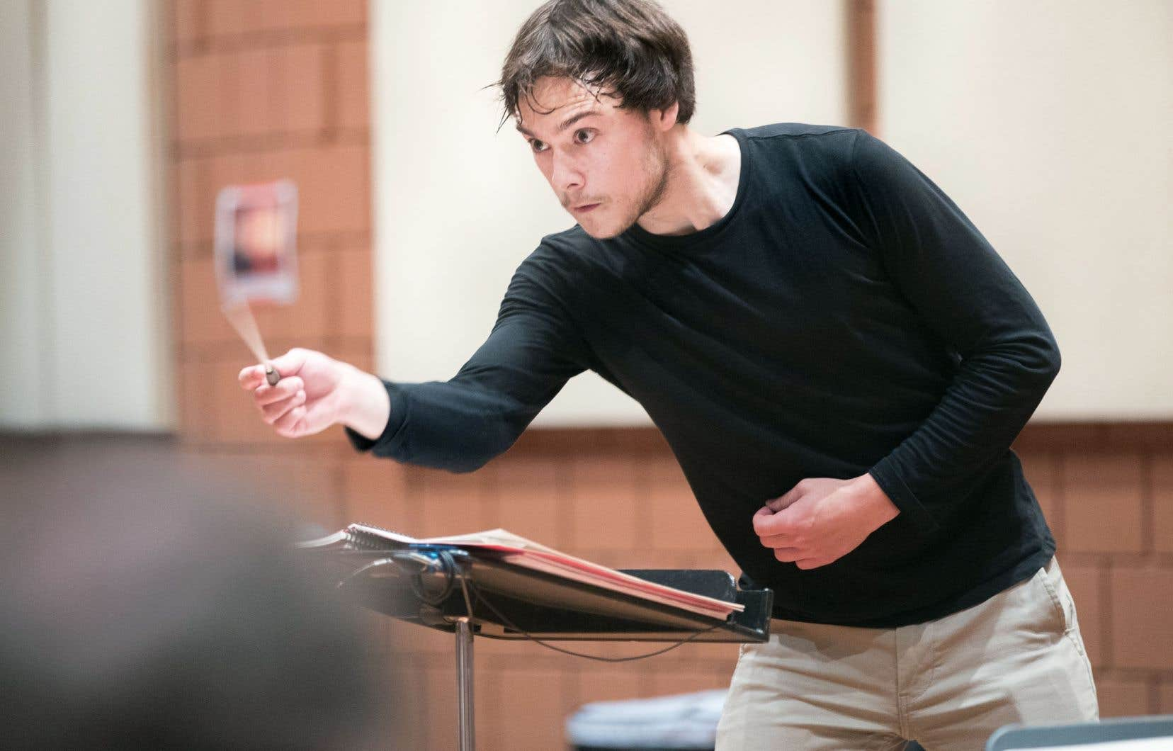 Le chef d'orchestre, Nicolas Ellis