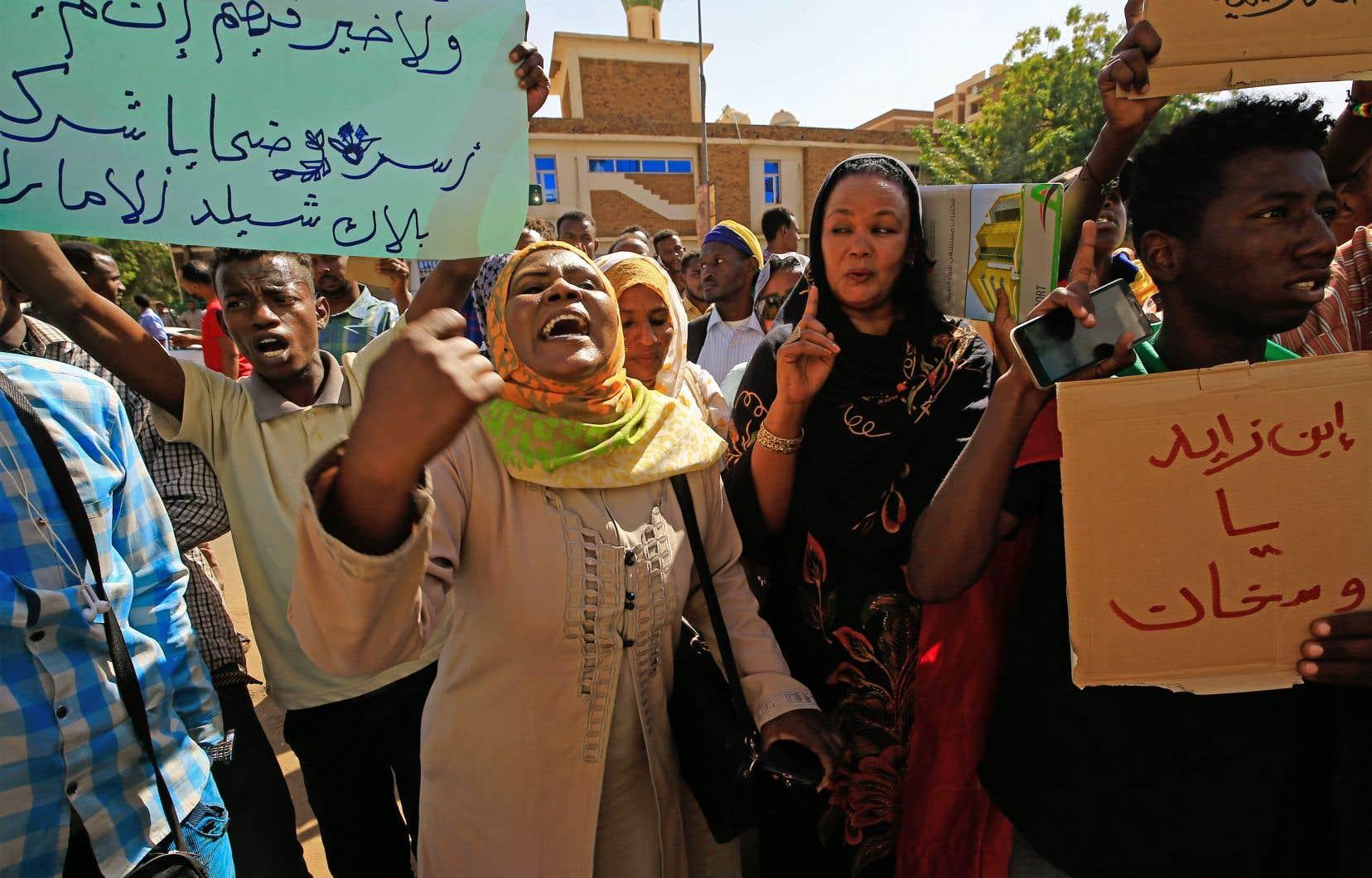 Pendant neuf mois, les Soudanais ont manifesté quotidiennement, et plus de la moitié des manifestants étaient des femmes.
