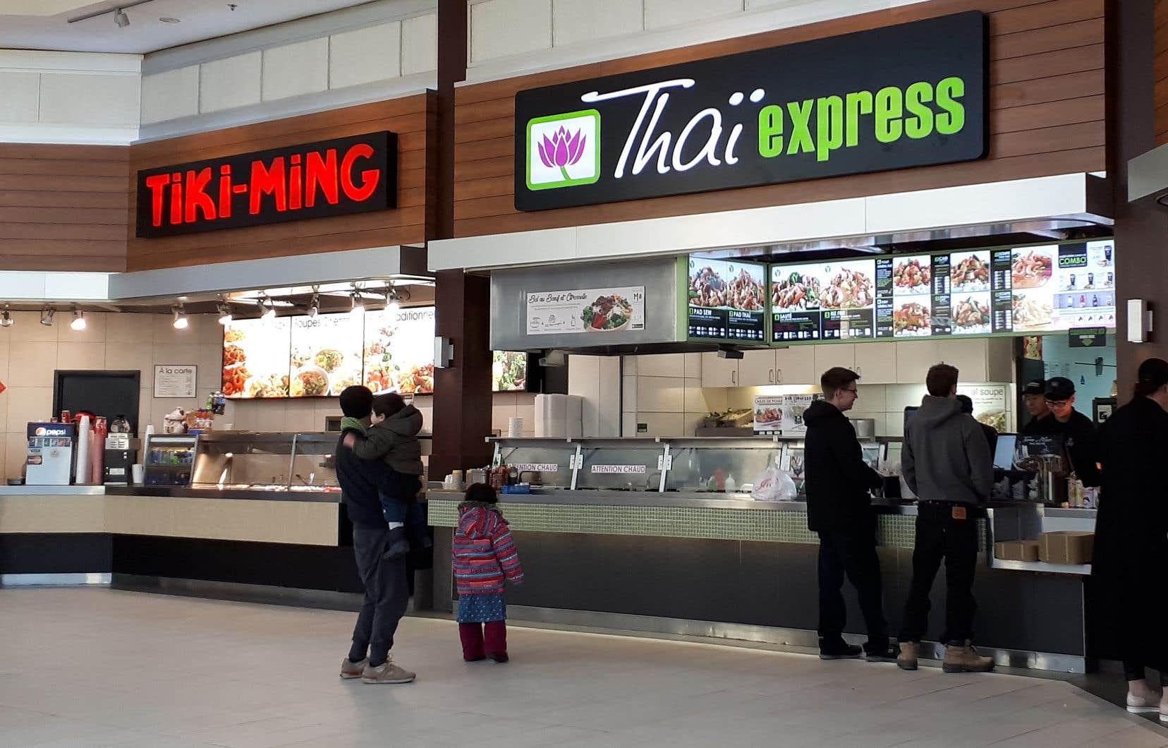 Groupe d'alimentation MTY estpropriétaire d'enseignes comme Thaï Express, Tiki-Ming, Tutti Frutti et Valentine.