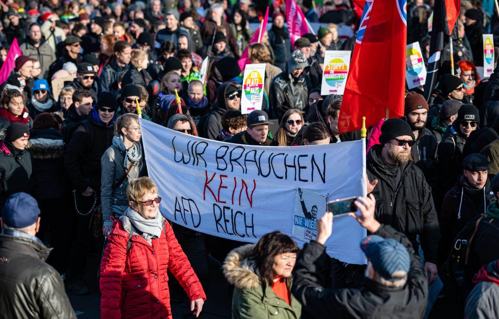 Quelque 18000 personnes ont manifesté, selon les organisateurs.