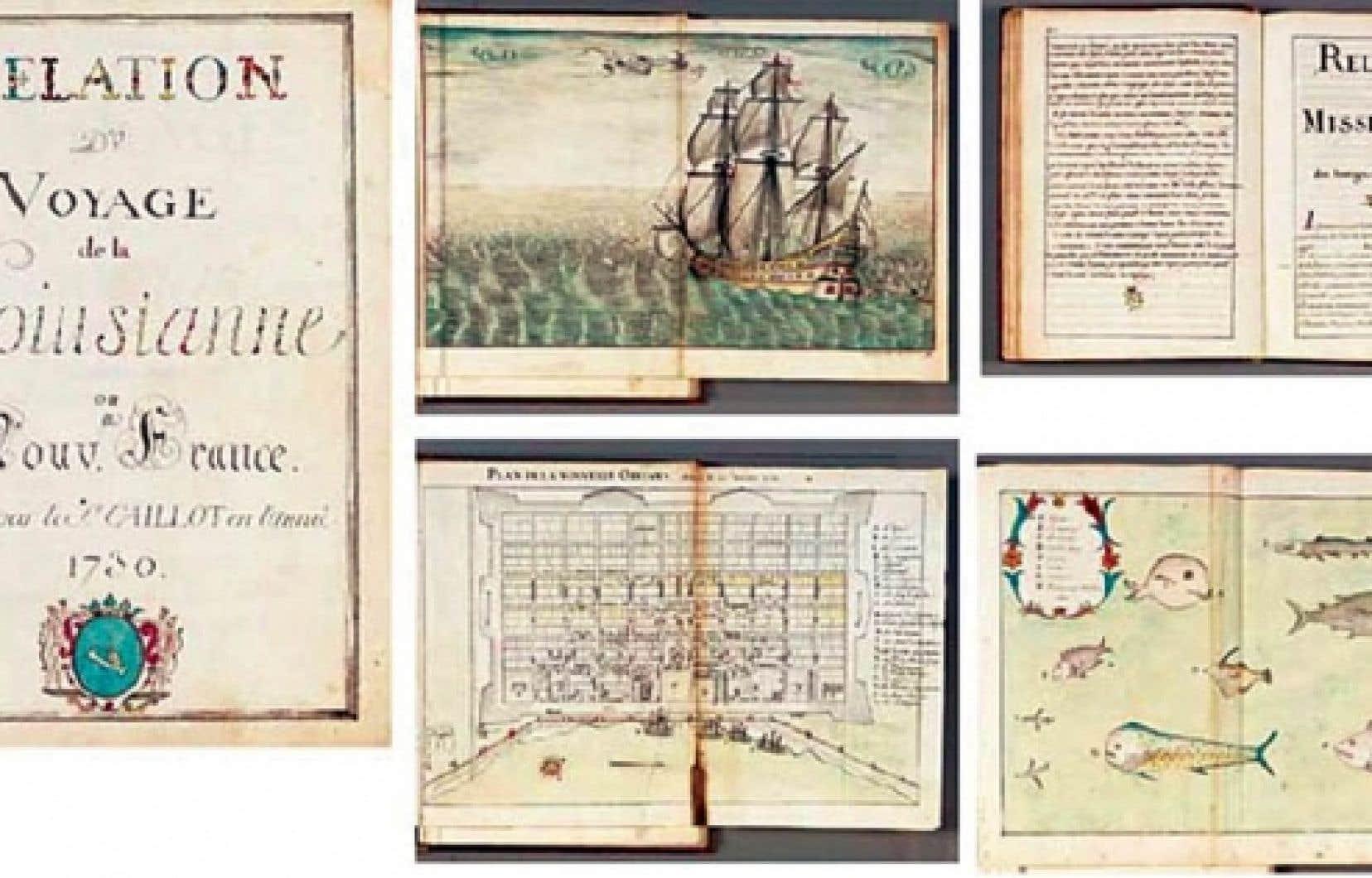 Relation du voyage de la Louisiane ou Nouvelle-France, un manuscrit de 168 pages, est décrit dans le catalogue de Christie's comme un «ouvrage remarquable de première main, jamais publié», orné de nombreuses gravures, a bel et bien appartenu aux Archives nationales.<br />