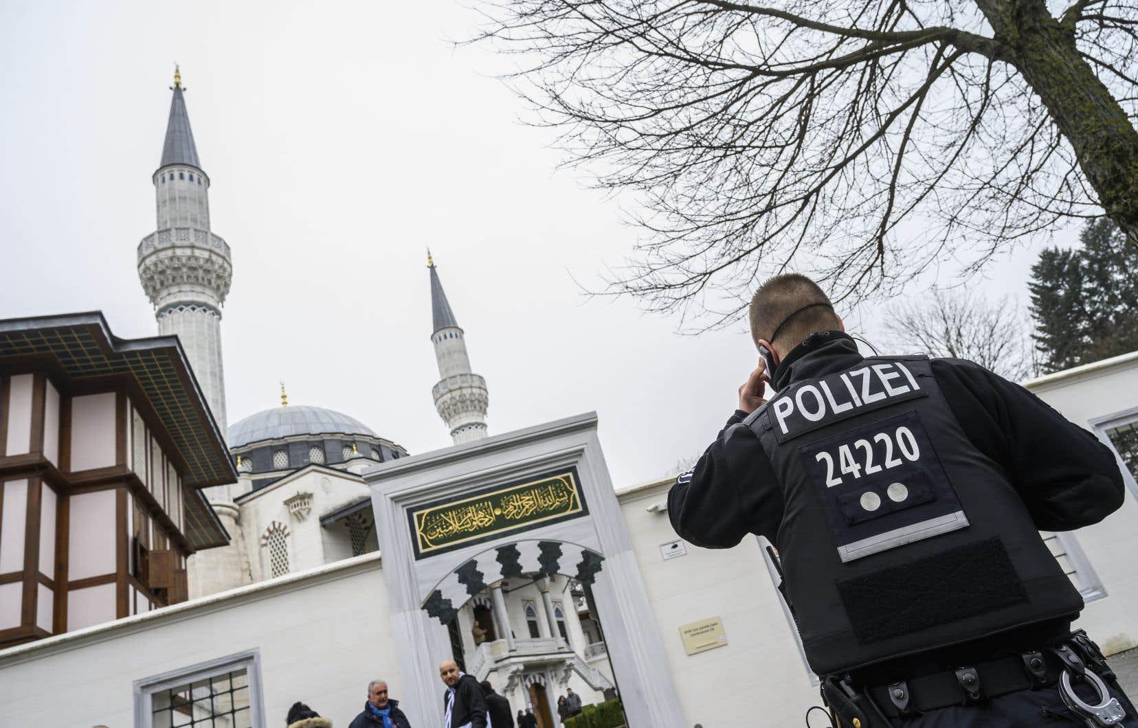 En mars 2019, après l'attentat de Christchurch en Nouvelle-Zélande, la sécurité avait été renforcée autour des mosquées d'Allemagne.