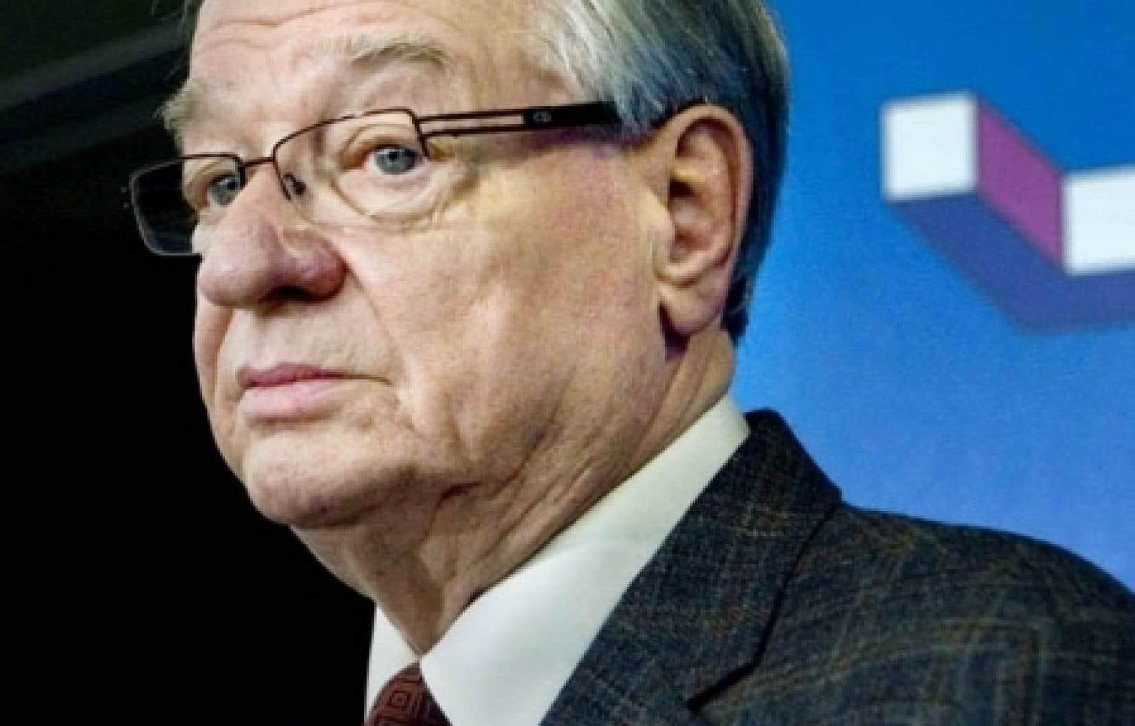 Le maire de Laval, Gilles Vaillancourt<br />
