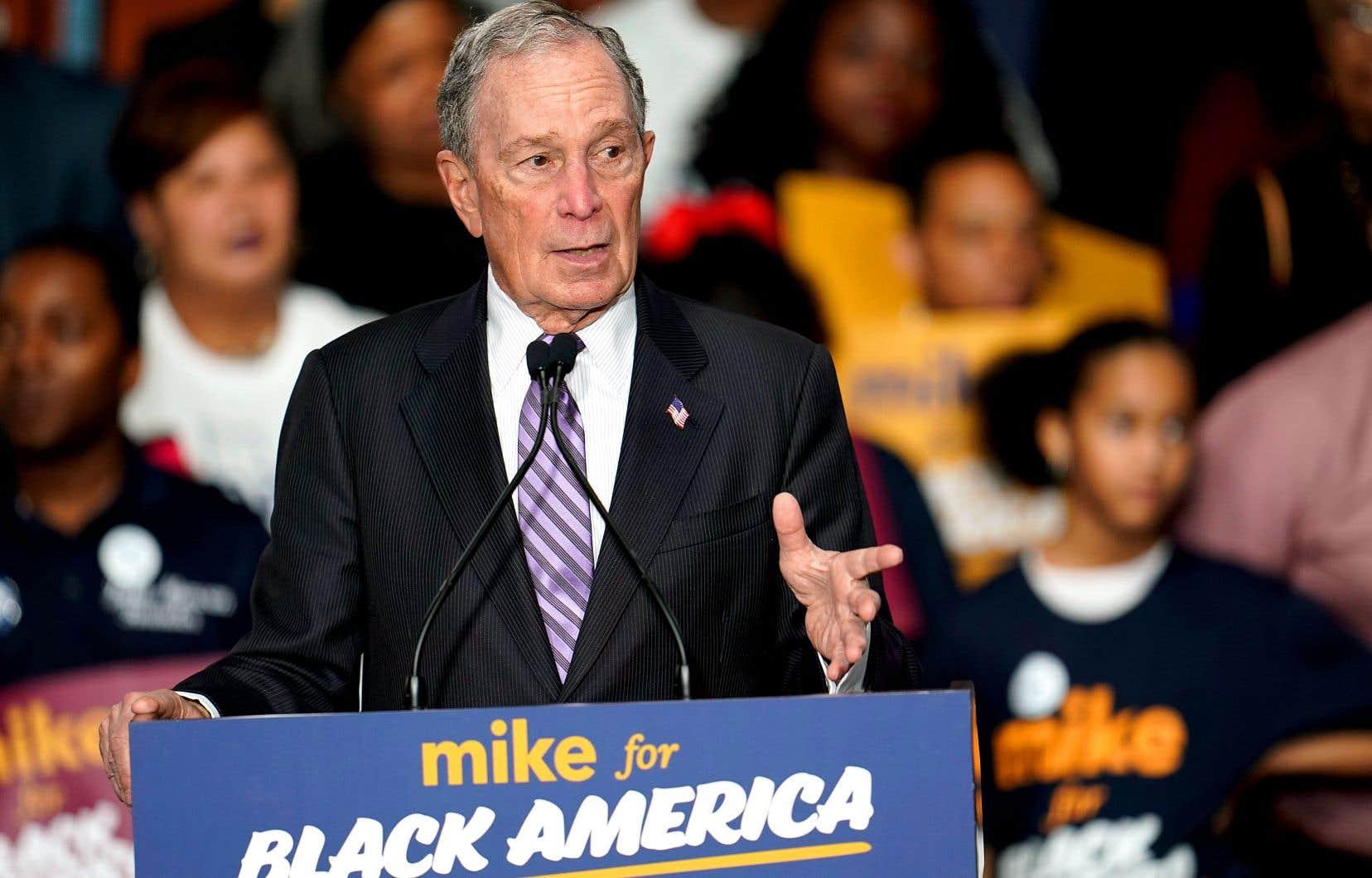 Michael Bloomberg a enregistré ces derniers jours un soutien croissant au sein de la population noire.