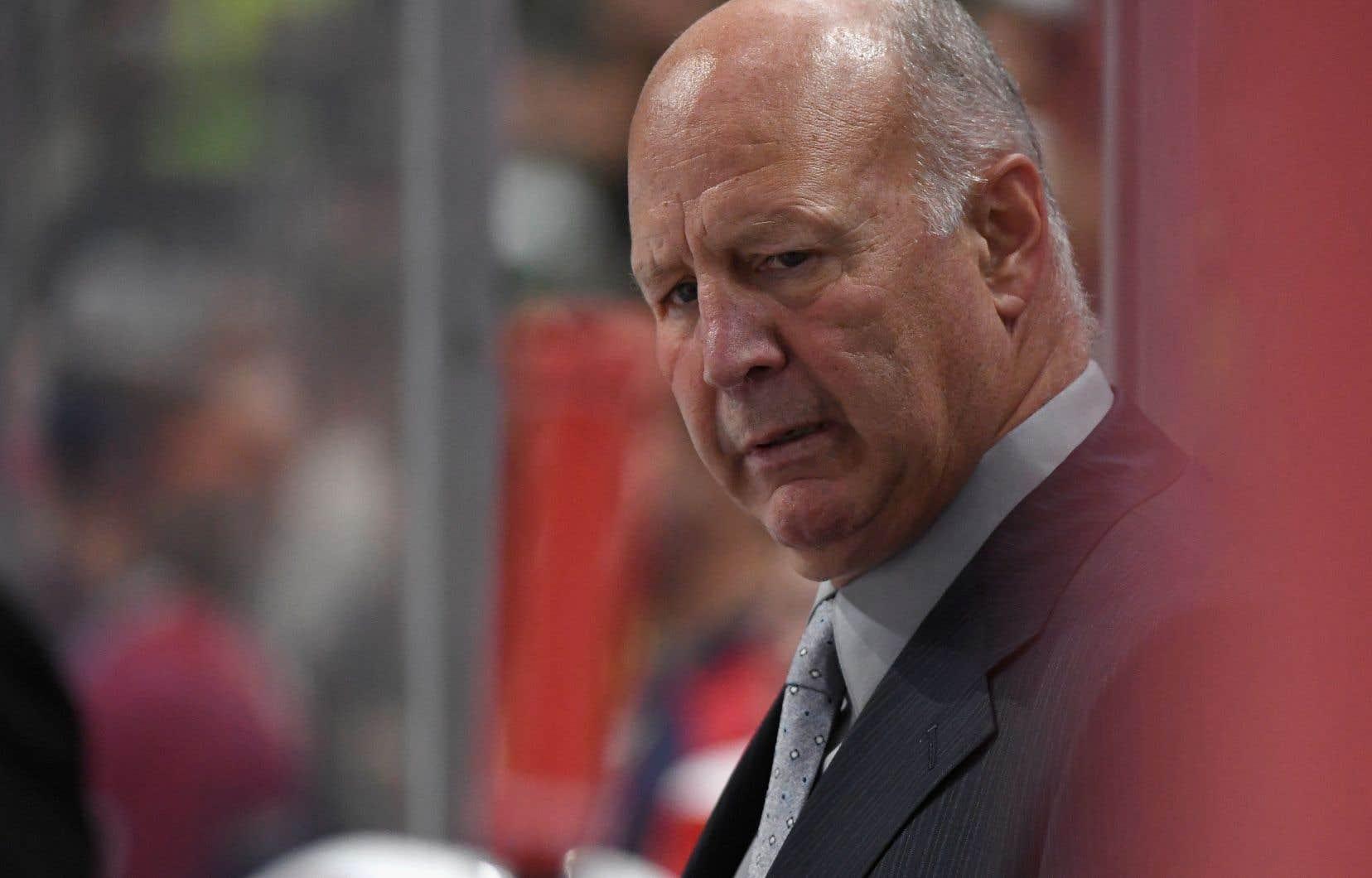 L'entraîneur-chef du Canadien, Claude Julien