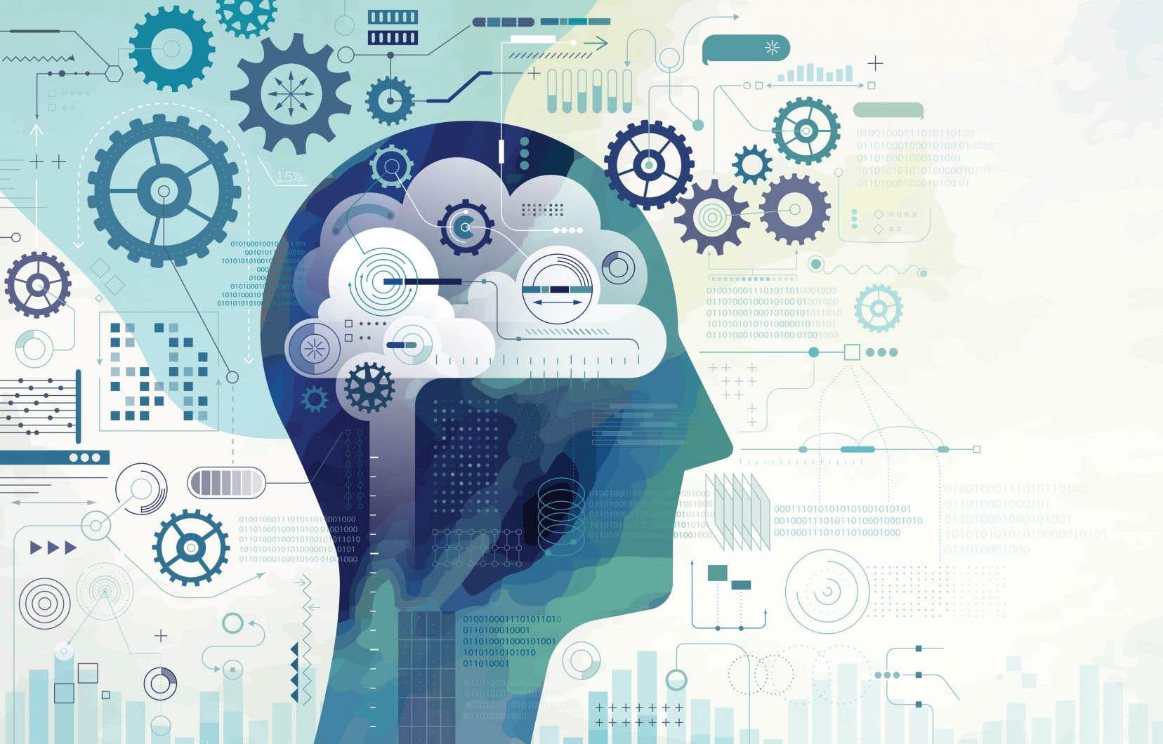 «Que l'IA soit capable du meilleur ou du pire, c'est ce que nous rappelle notre imaginaire culturel entretenu, depuis longtemps, par la science-fiction», expliqueAndré-Louis Paré.
