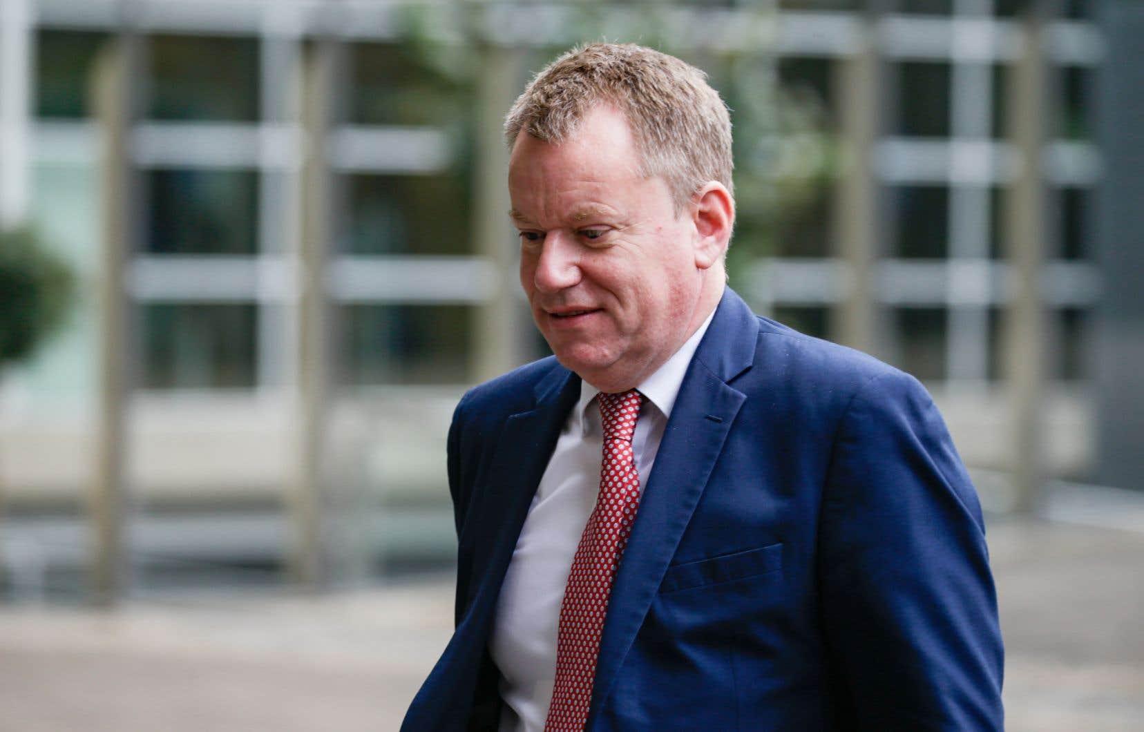 Le négociateur britannique sur le Brexit, David Frost