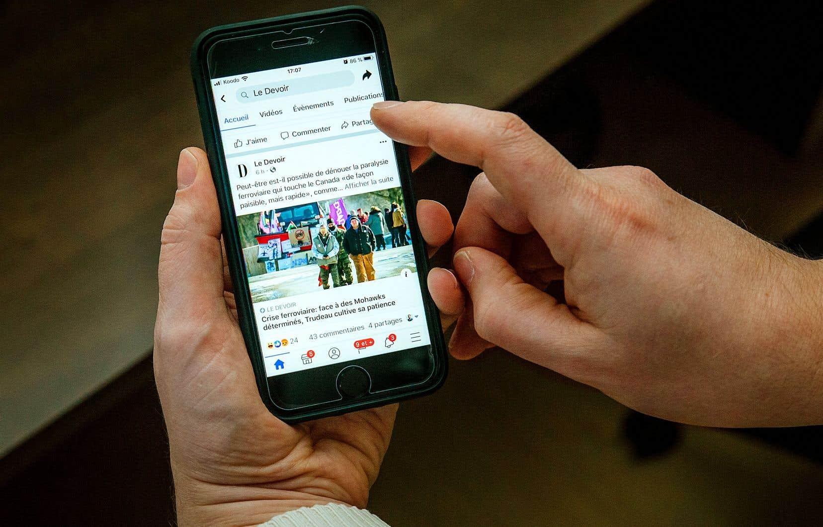 Facebook et Google monopolisent aujourd'hui 75% de l'ensemble des revenus publicitaires numériques.