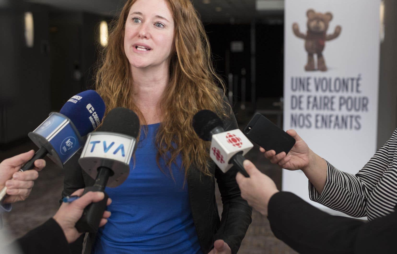 Nathalie Pépin, intervenante à la DPJ Mauricie-Centre-du-Québec